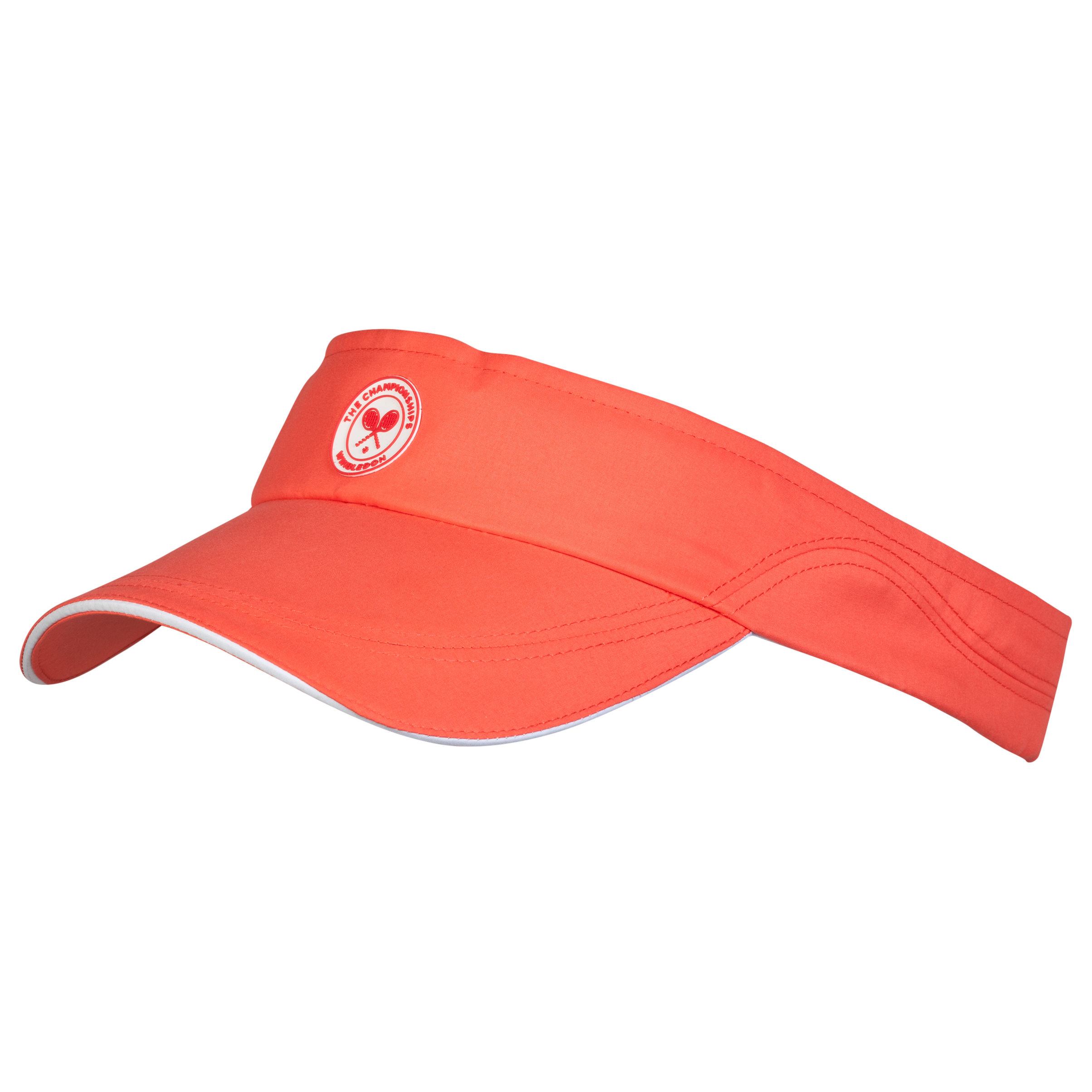 Wimbledon Adjustable Visor - Ladies - Coral