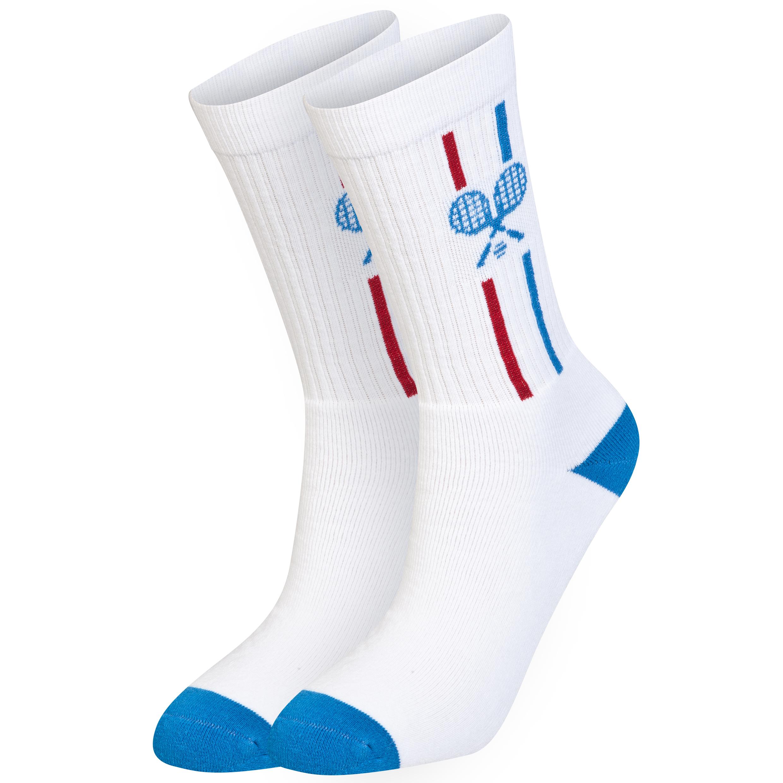 Wimbledon Mens Tennis Sock White