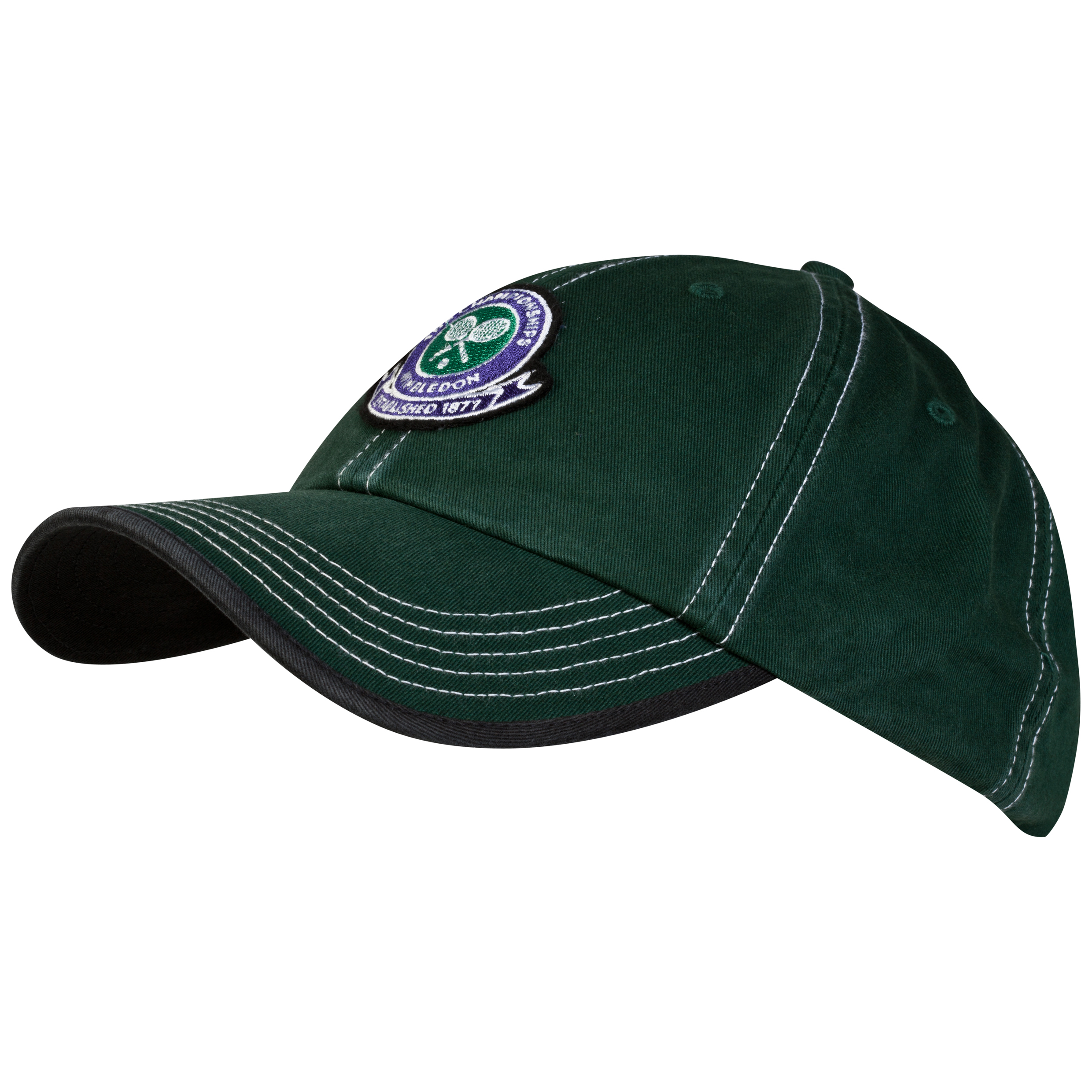 Wimbledon Logo Embroidered Cap - Dark Green