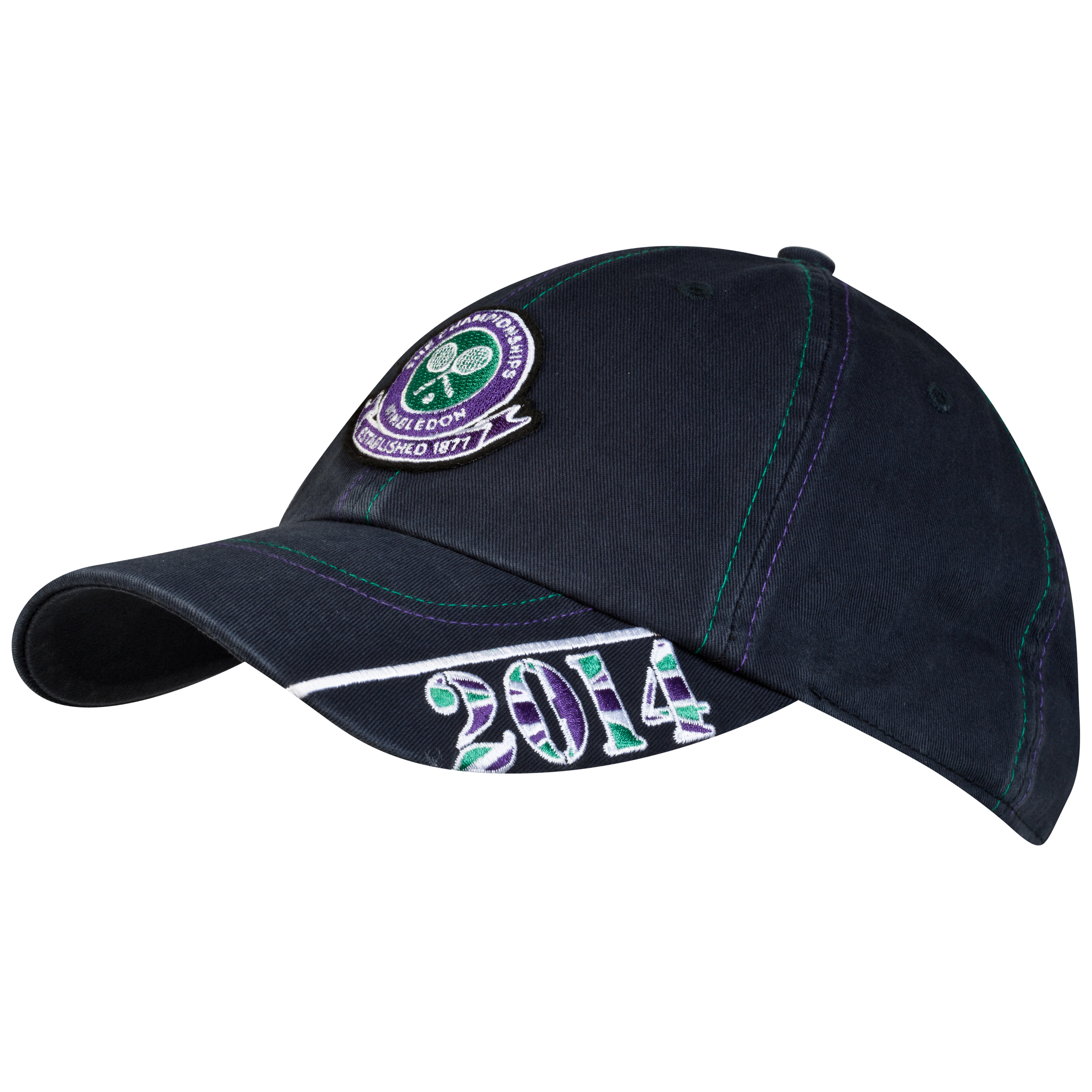 Wimbledon 2014 Dated Embroidered Cap Navy