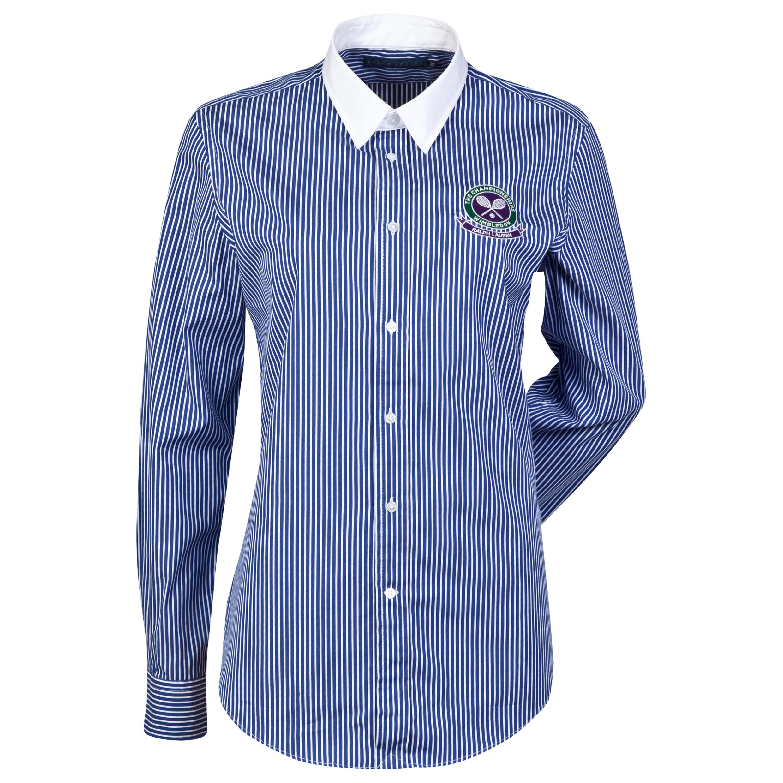 Wimbledon Ralph Lauren Wimbledon Judges Shirt - Womens Blue