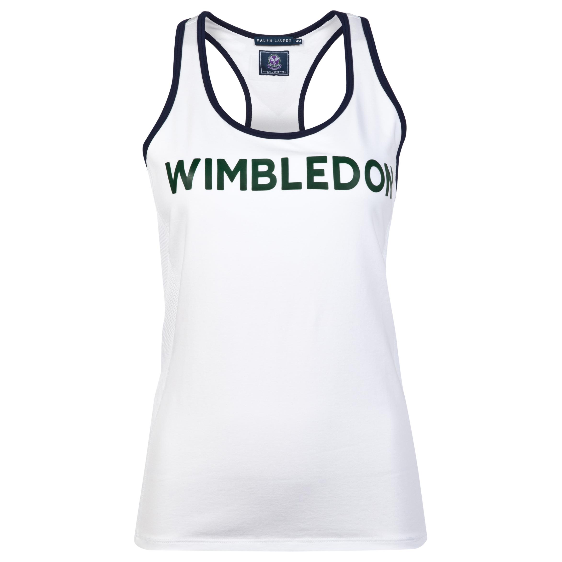 Wimbledon Ralph Lauren Wimbledon Jodie Tank - Womens White