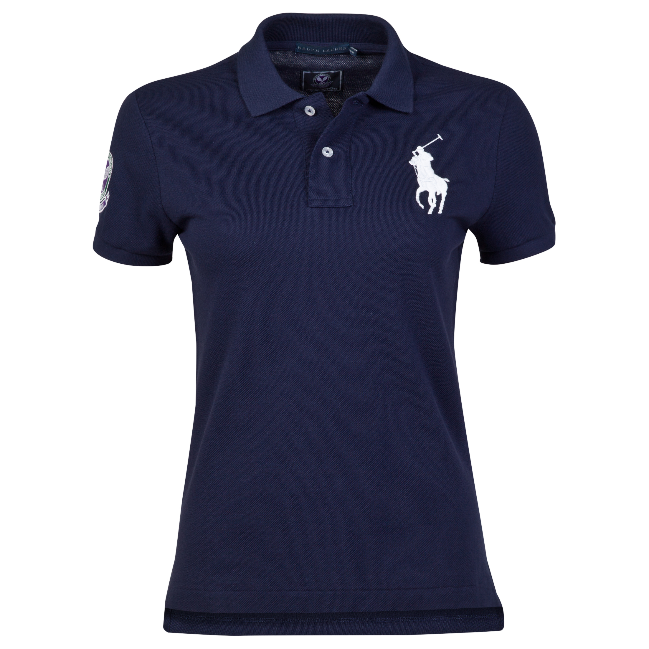 Wimbledon Ralph Lauren Wimbledon Polo - Womens French White