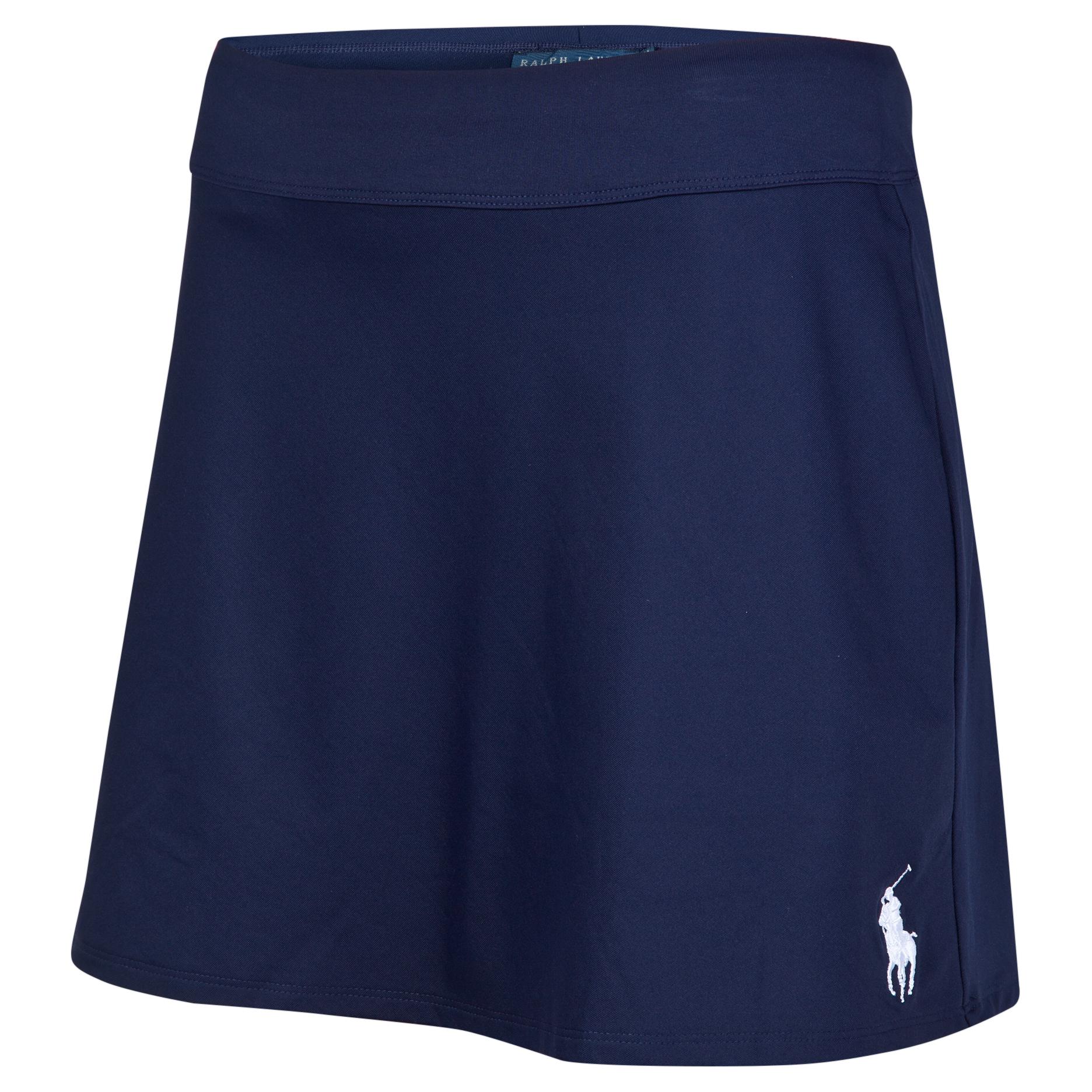 Wimbledon Ralph Lauren Wimbledon Ball Girl Skirt - Womens French Navy