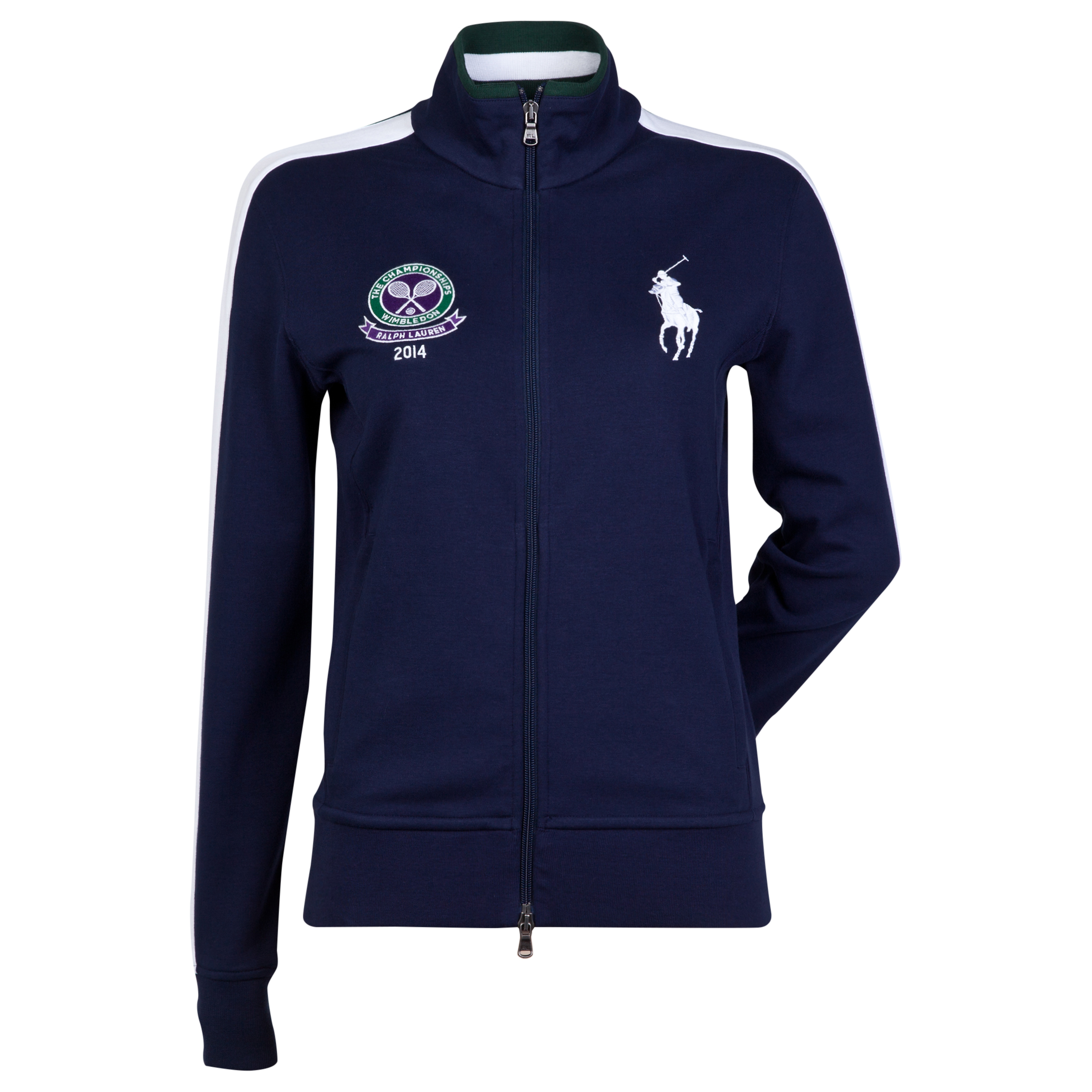Wimbledon Ralph Lauren Wimbledon Ball Girl Warm Up Jacket - Womens Navy