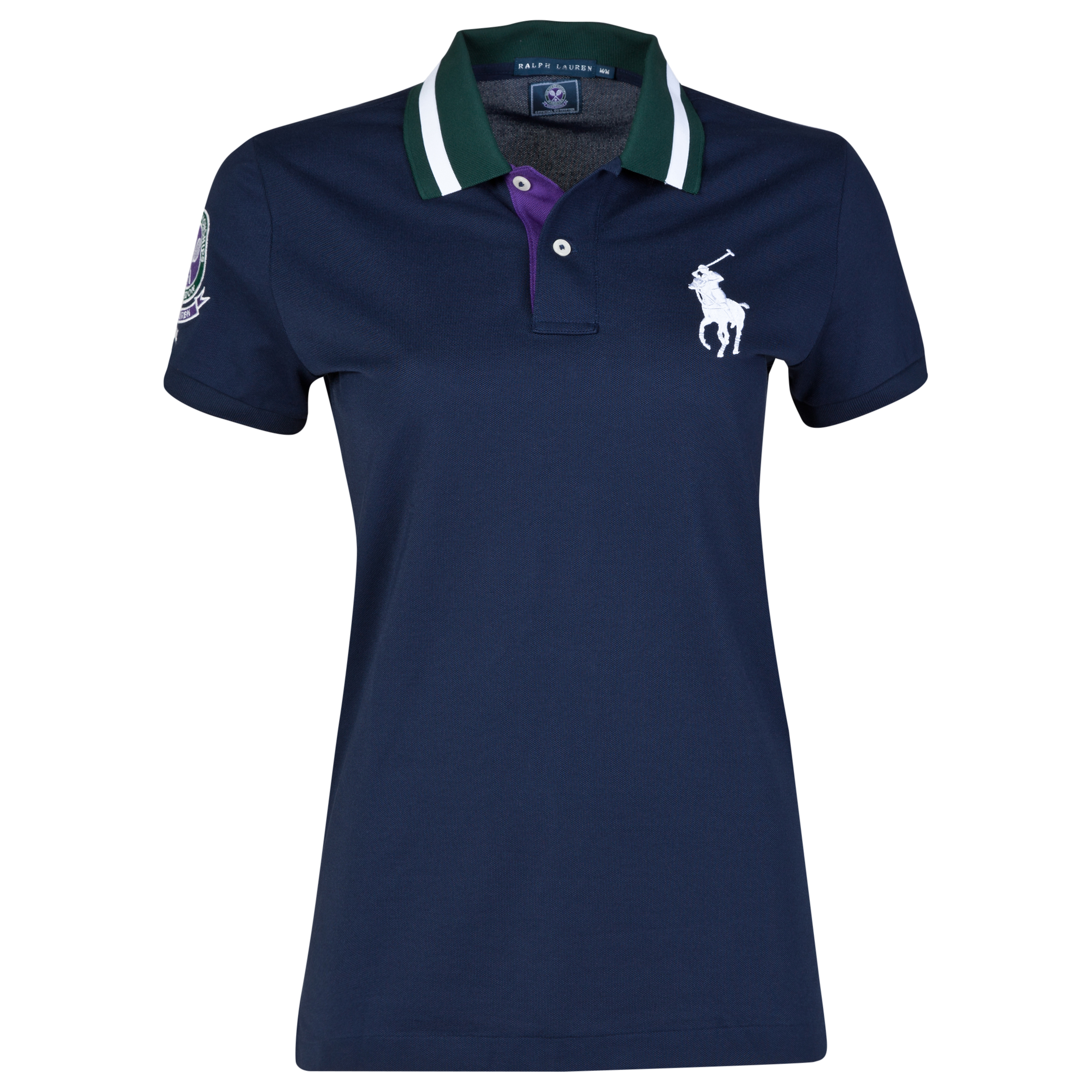 Wimbledon Ralph Lauren Wimbledon Ball Girl Polo - Womens Navy