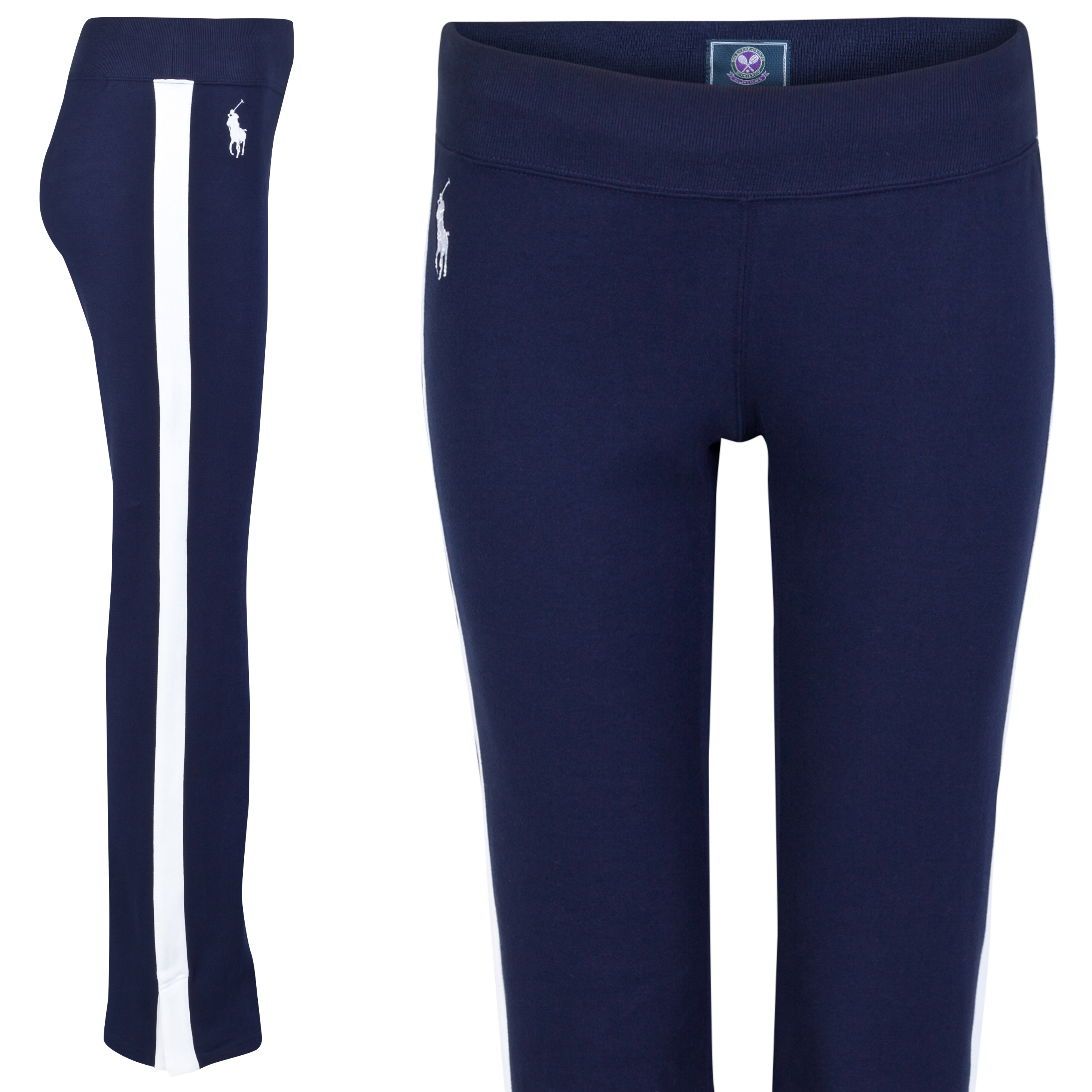 Wimbledon Ralph Lauren Wimbledon Ball Girl Warm Up Pant - Womens Navy