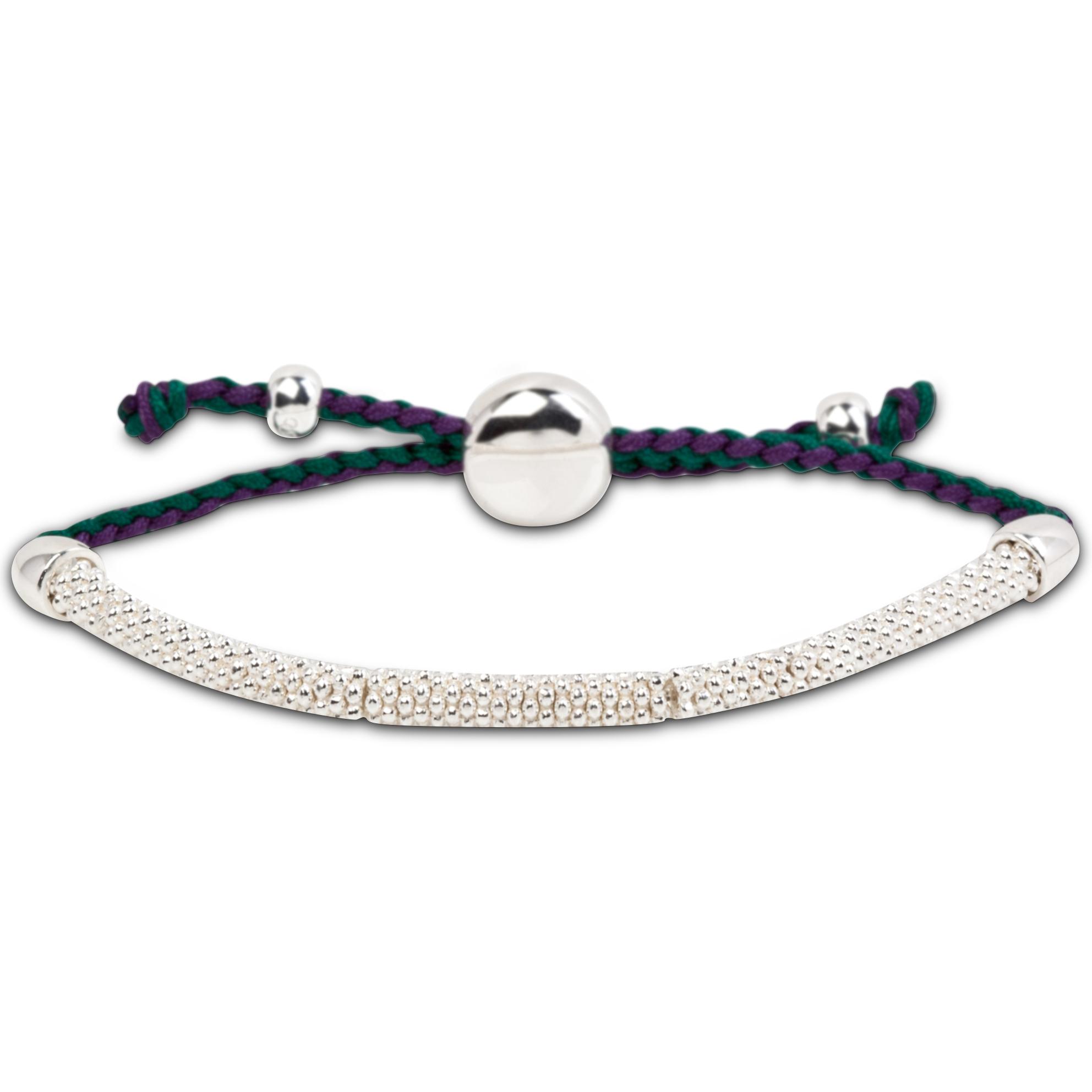 Wimbledon Effervescence XS Cord Bracelet