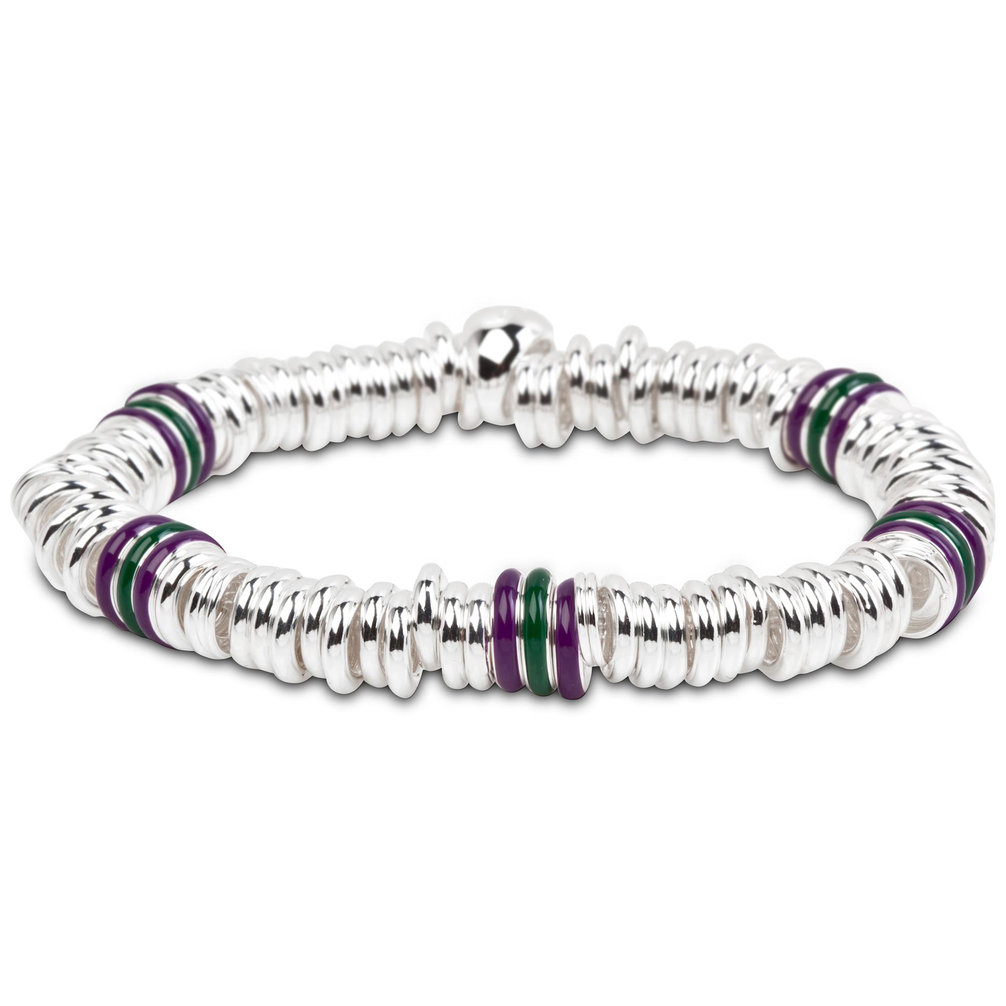 Wimbledon Enamel Sweetie Bracelet