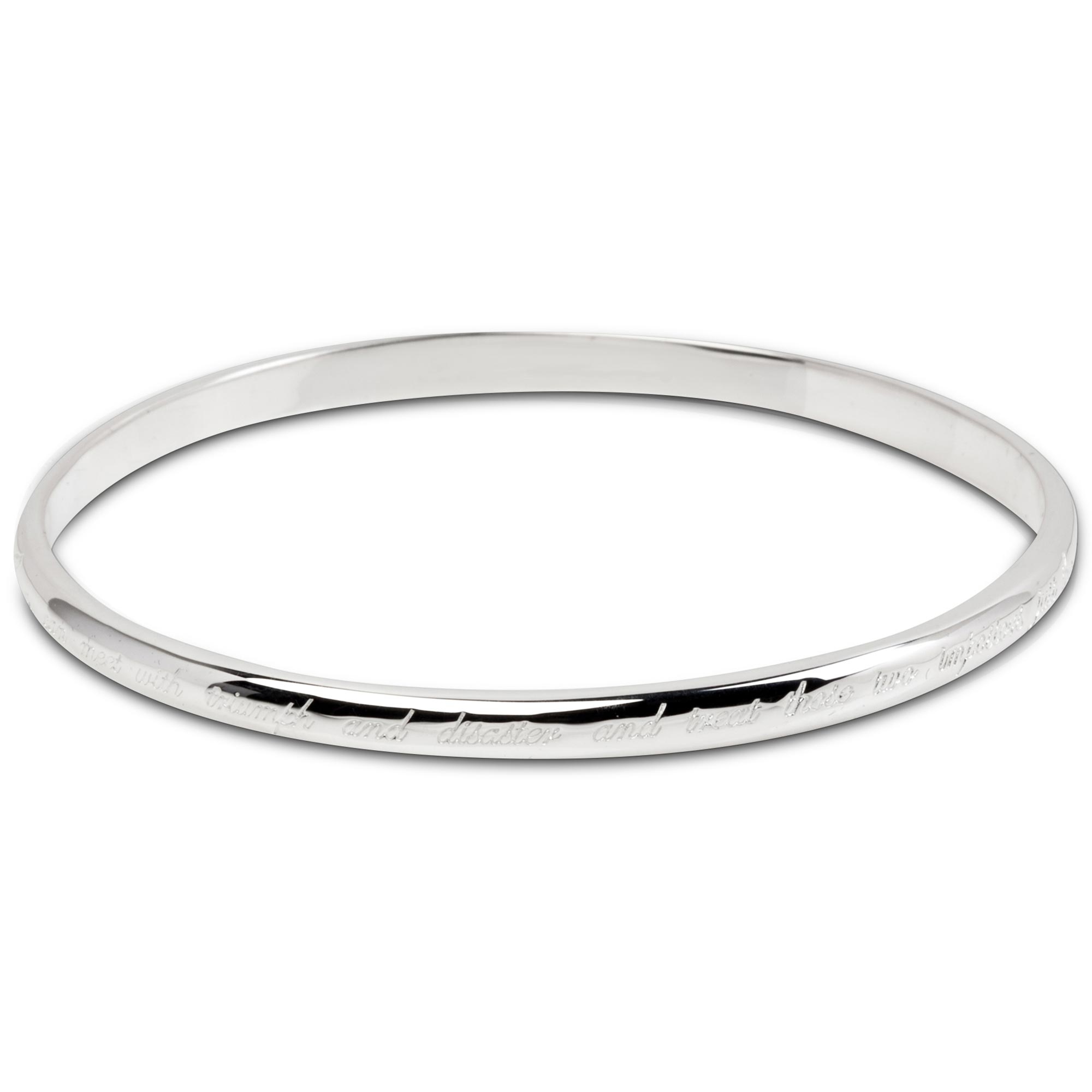 Wimbledon Kipling Sterling Silver Bangle