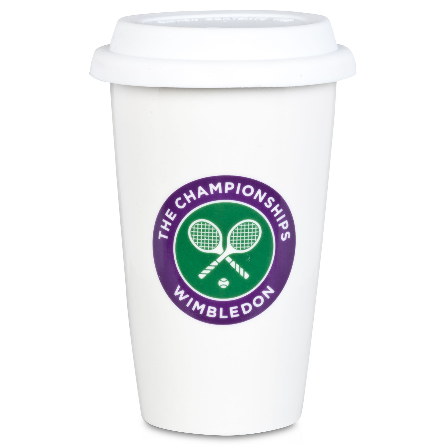 Wimbledon Take Away Coffee Mug - White