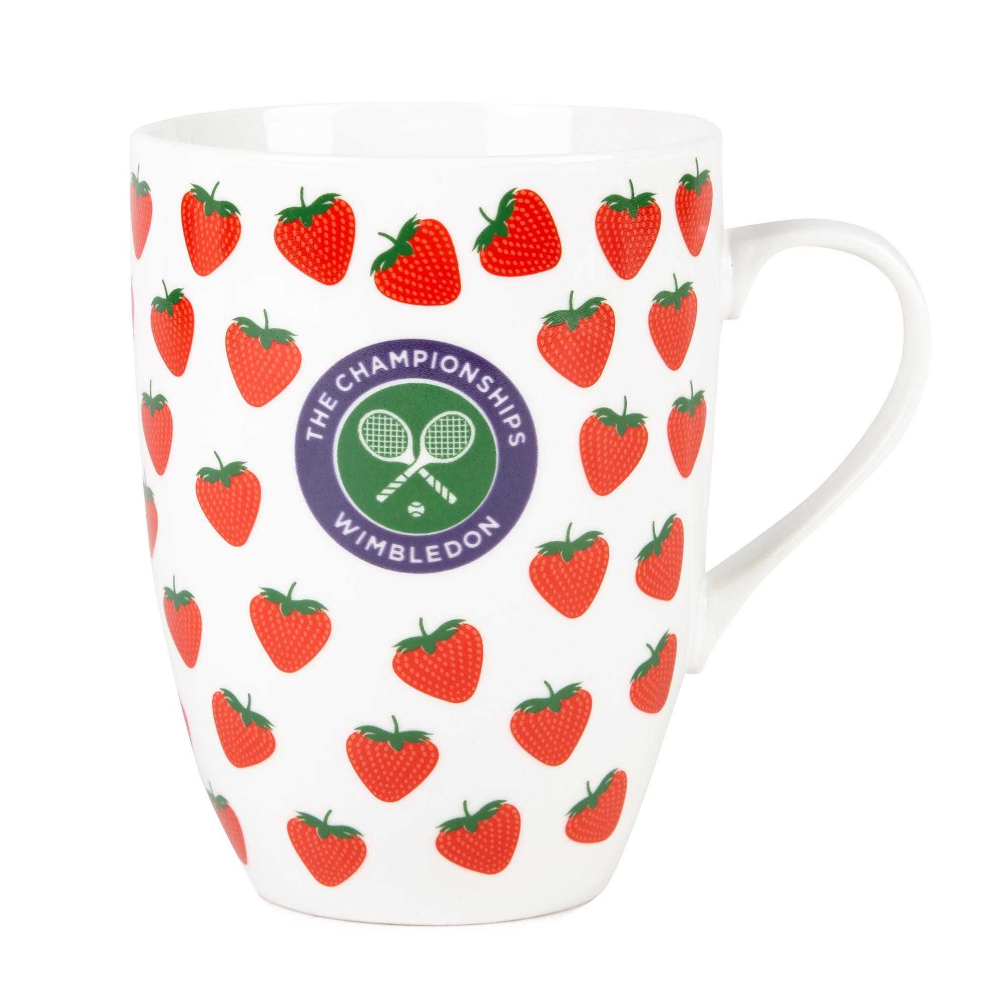 Wimbledon Strawberry Mug - New