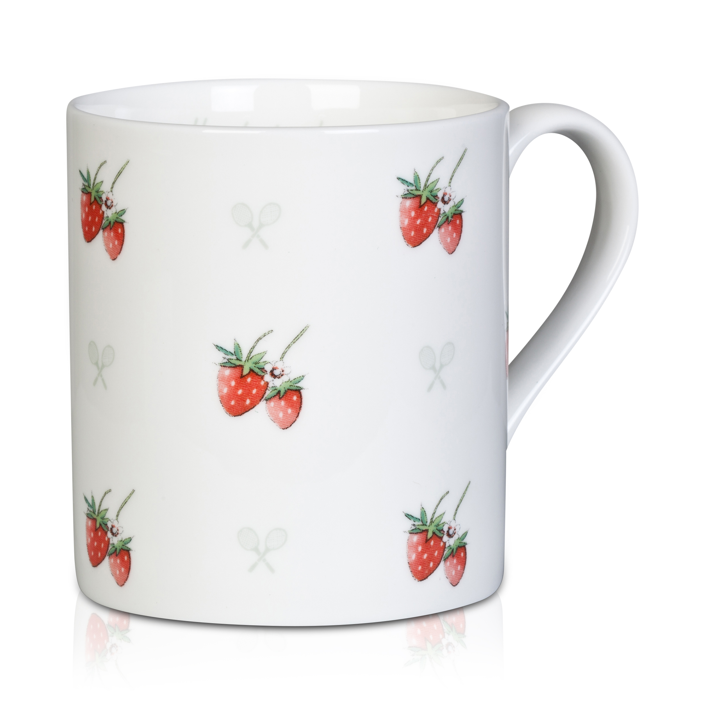 Wimbledon 'Perfect Match' Mug - White