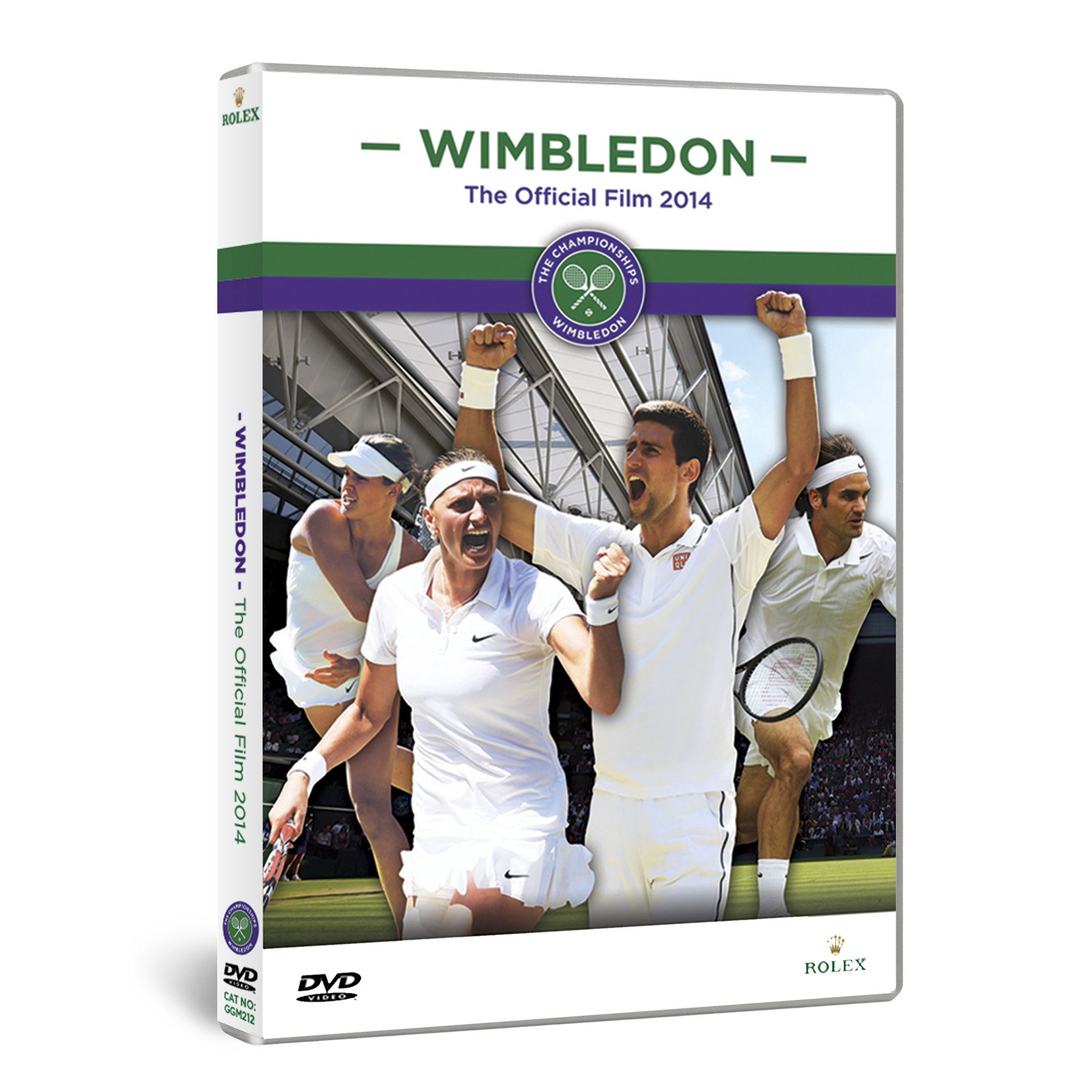 Wimbledon The Official Film 2014 DVD