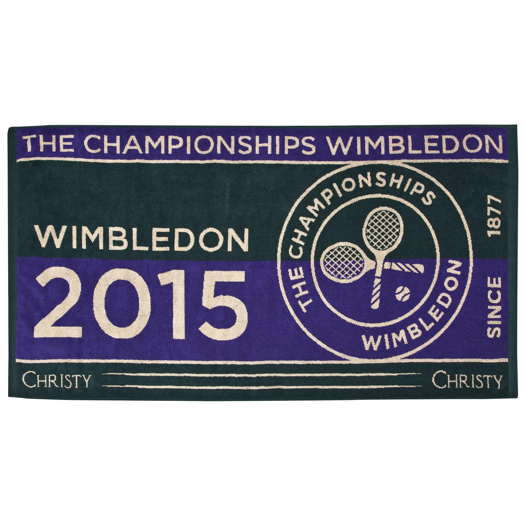 Wimbledon Mens Championship Towel 2015 - Green