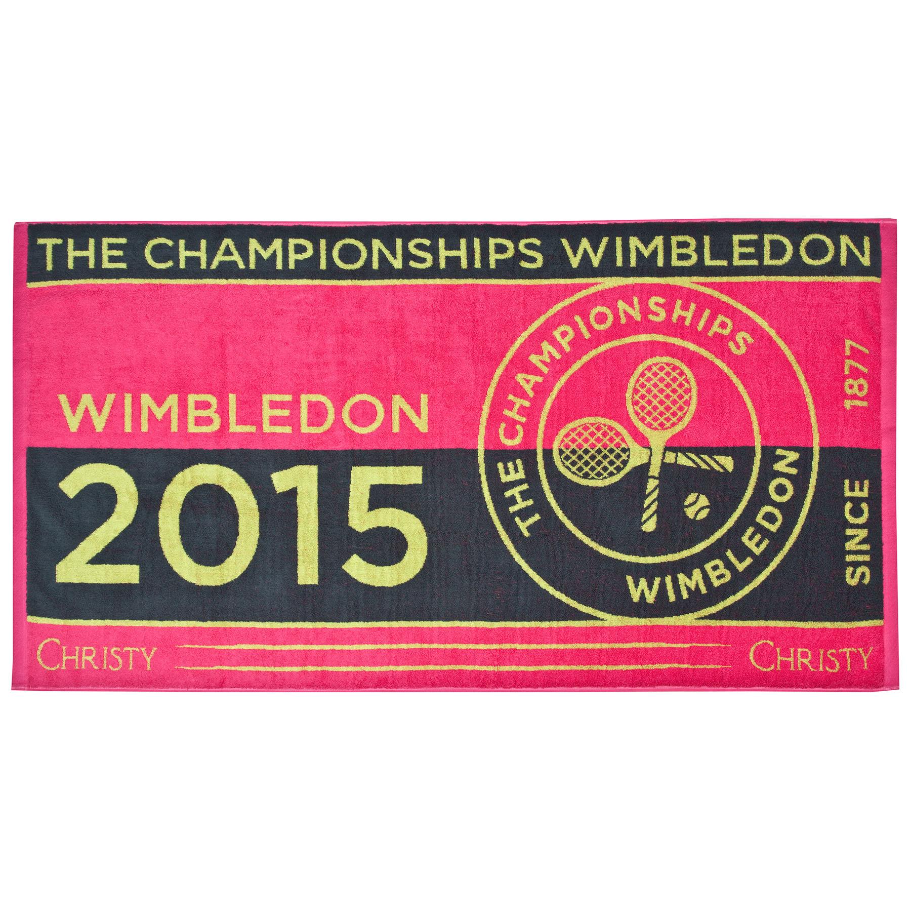 Wimbledon Ladies Championship Towel 2015 - Pink
