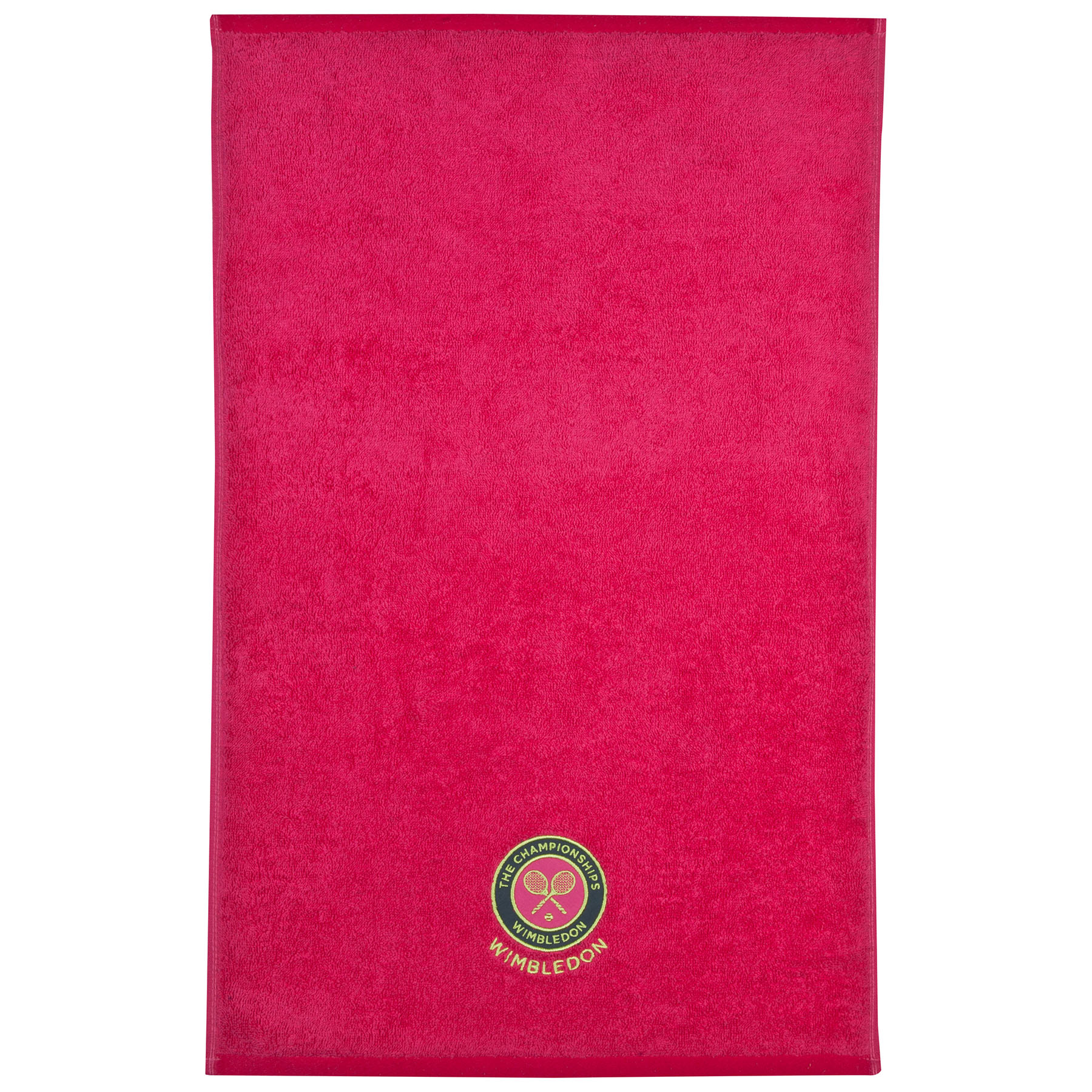 Wimbledon Ladies 2015 Guest Towel - Hot Pink