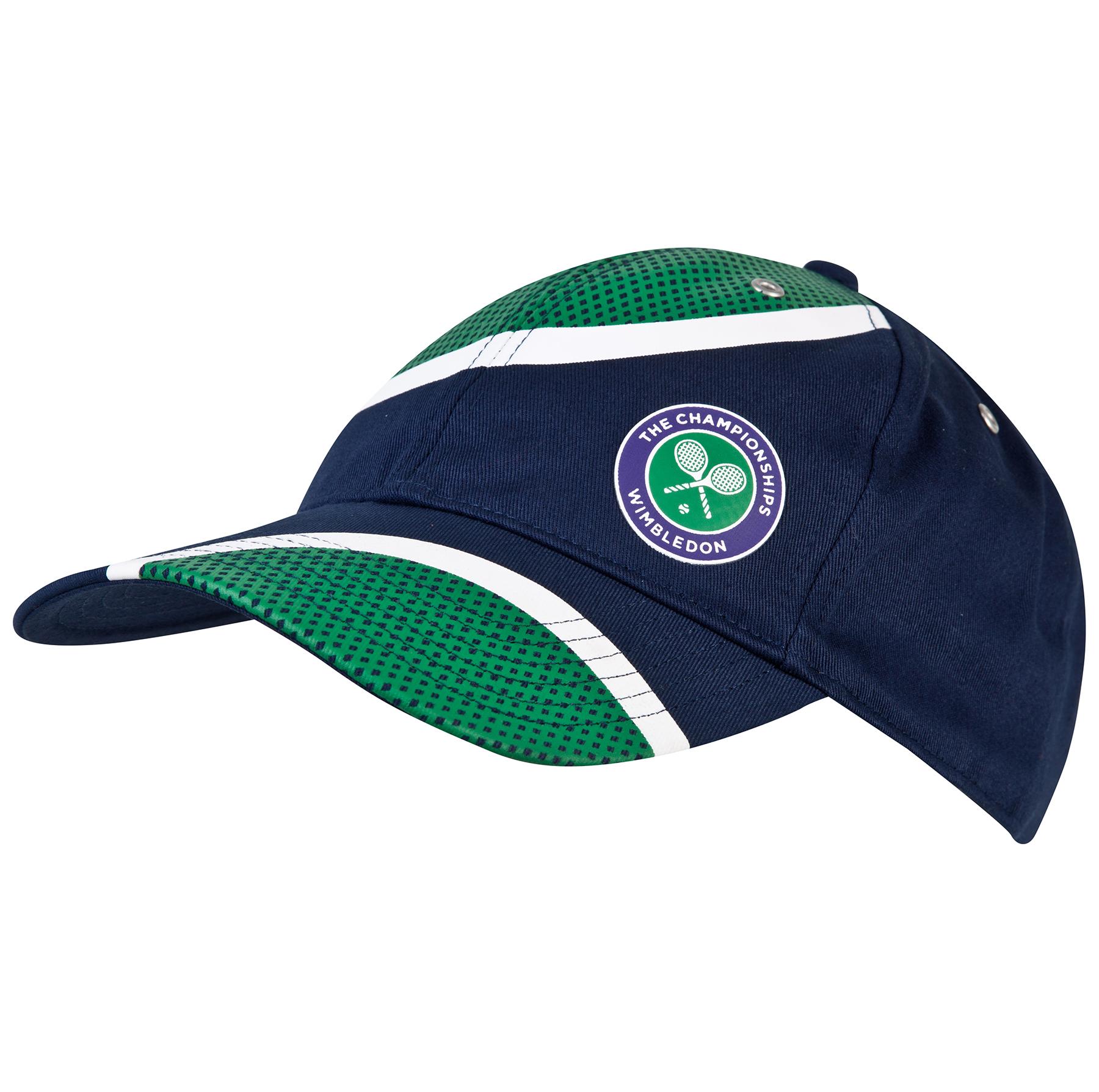 Wimbledon Small Logo Cap - Navy
