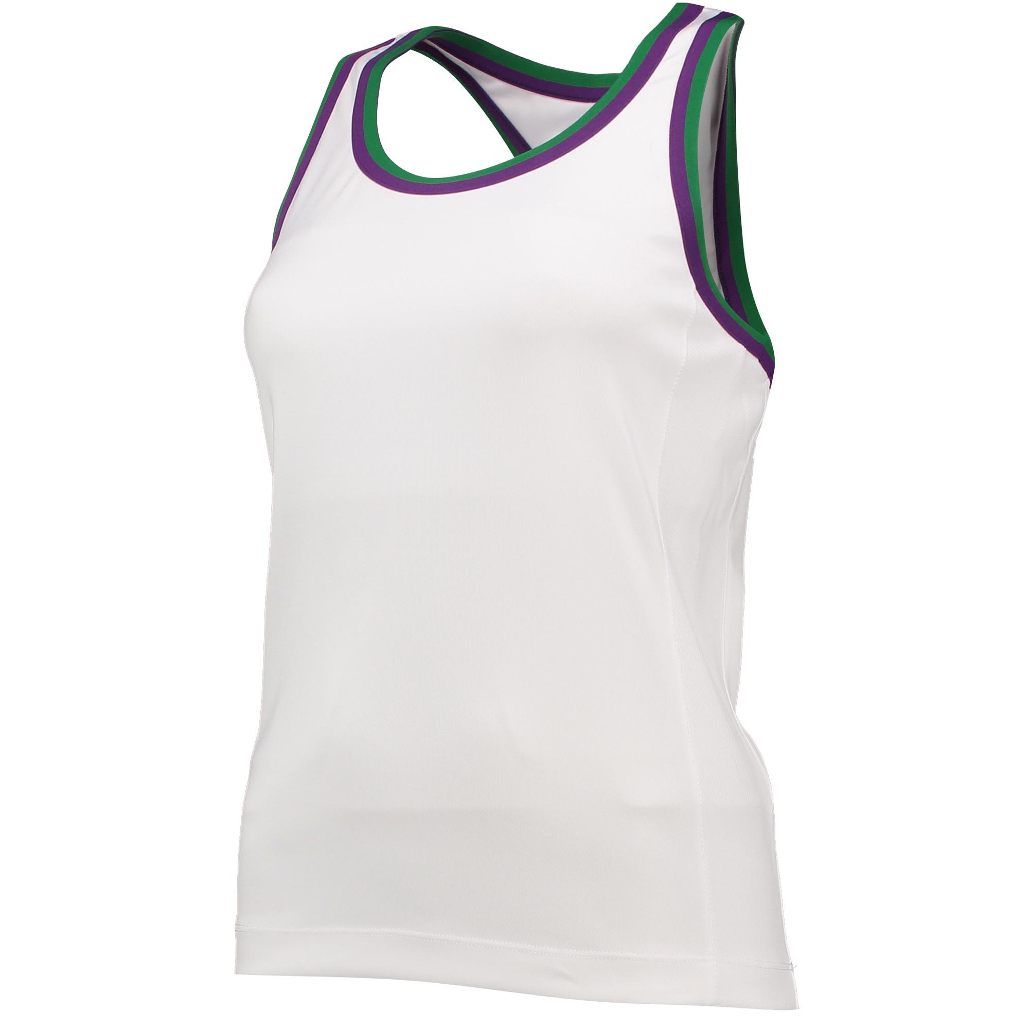 Wimbledon Racer Back Tank - Ladies