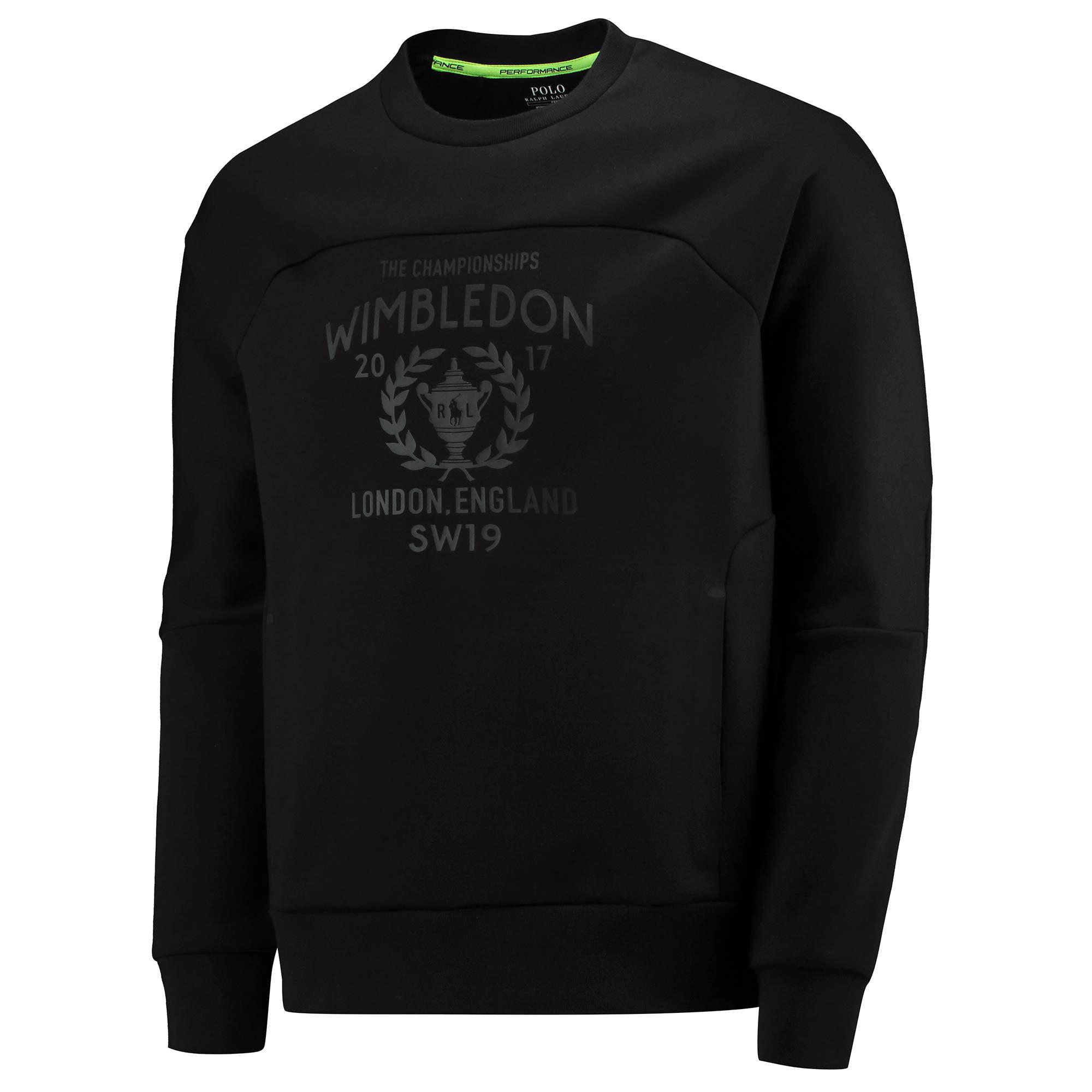 Wimbledon Ralph Lauren SPORT Sweatshirt - Black