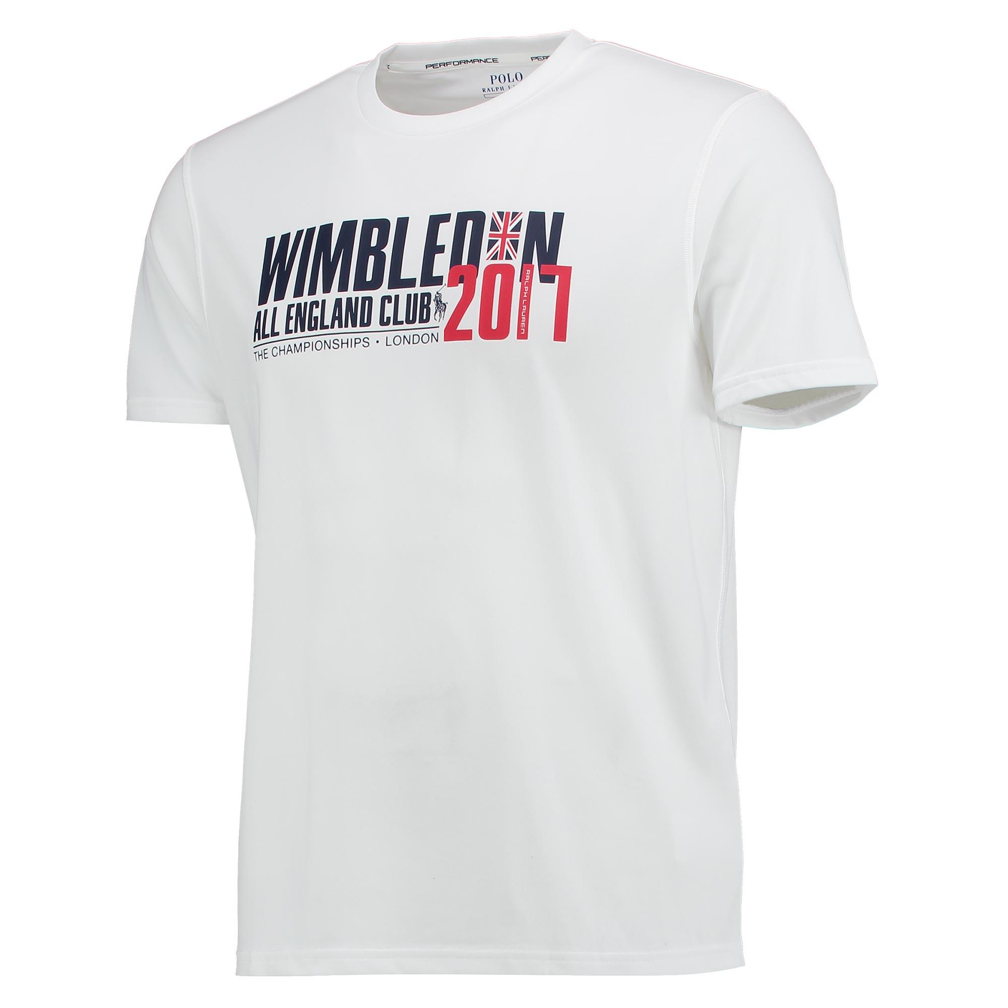 Wimbledon Ralph Lauren Performance T-Shirt - White