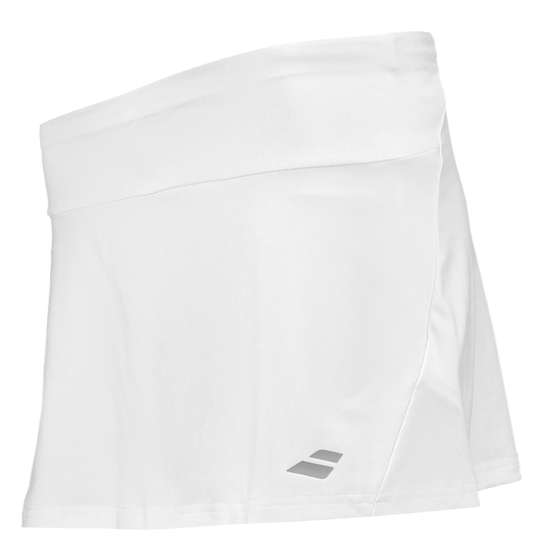 Wimbledon Babolat Performance Skirt - White - Ladies
