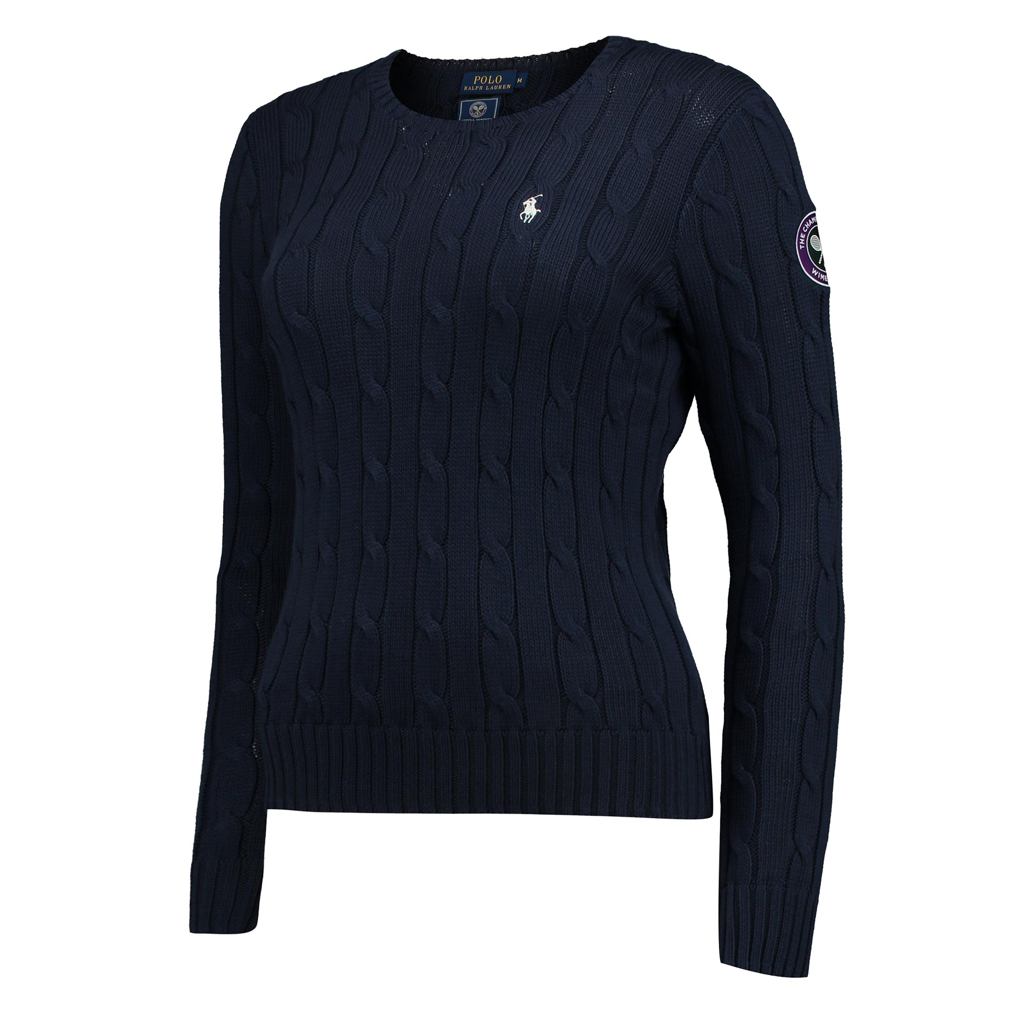 Wimbledon Ralph Lauren Sweater - French Navy - Ladies