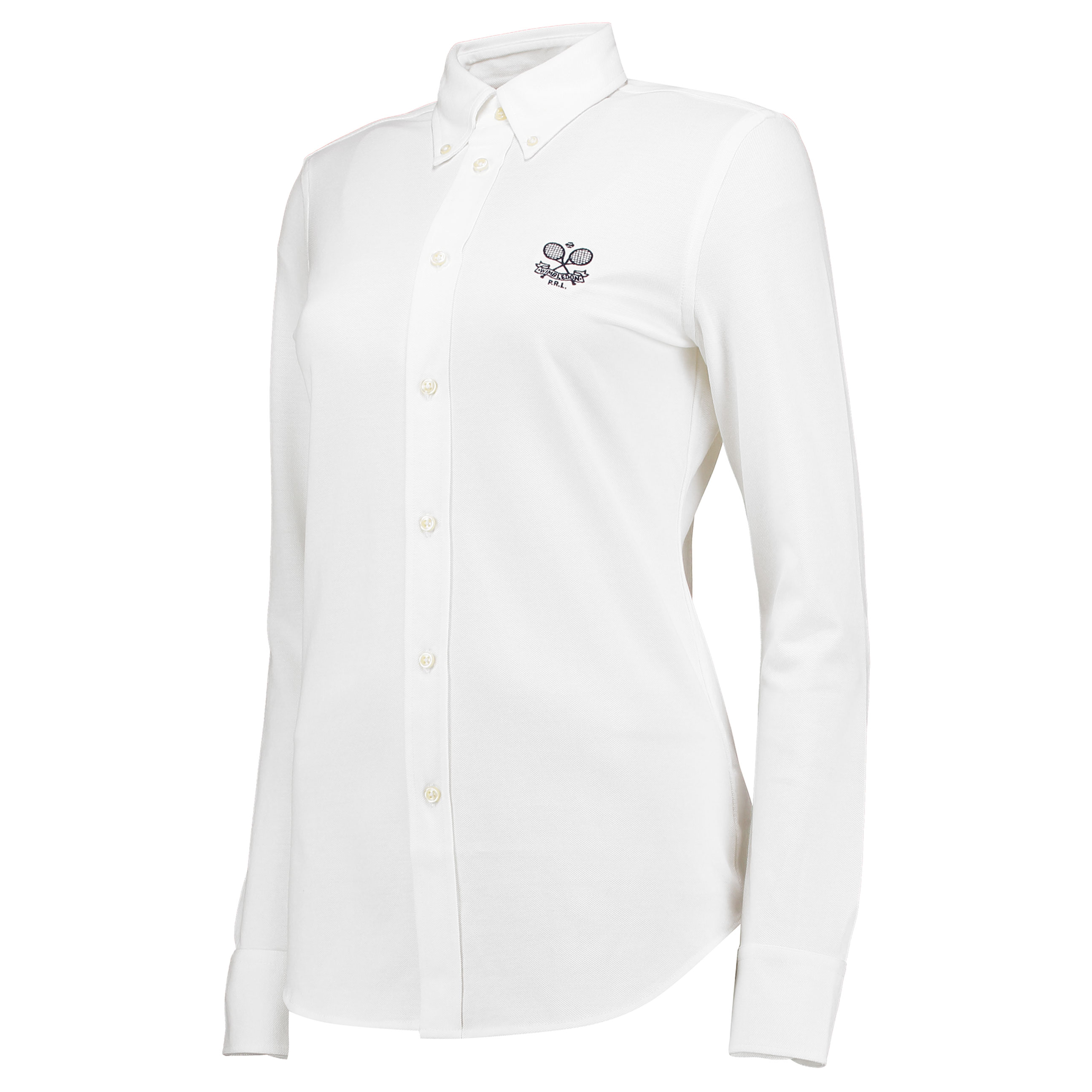 Wimbledon Ralph Lauren Oxford Shirt - White - Ladies