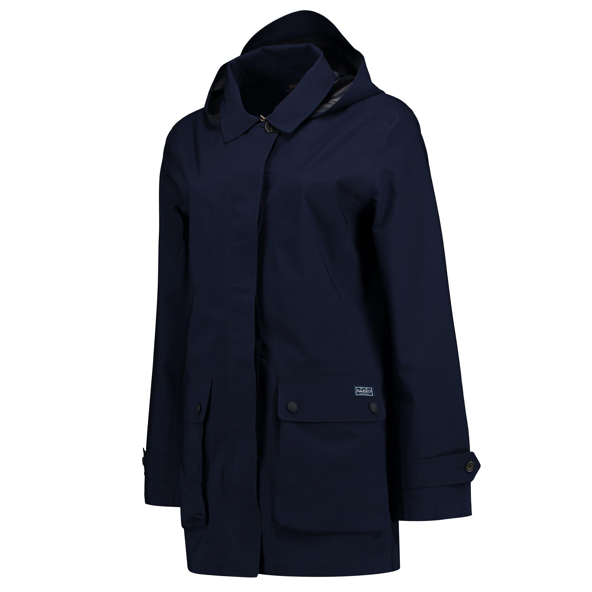 Wimbledon Ralph Lauren Rain Coat - French Navy - Ladies