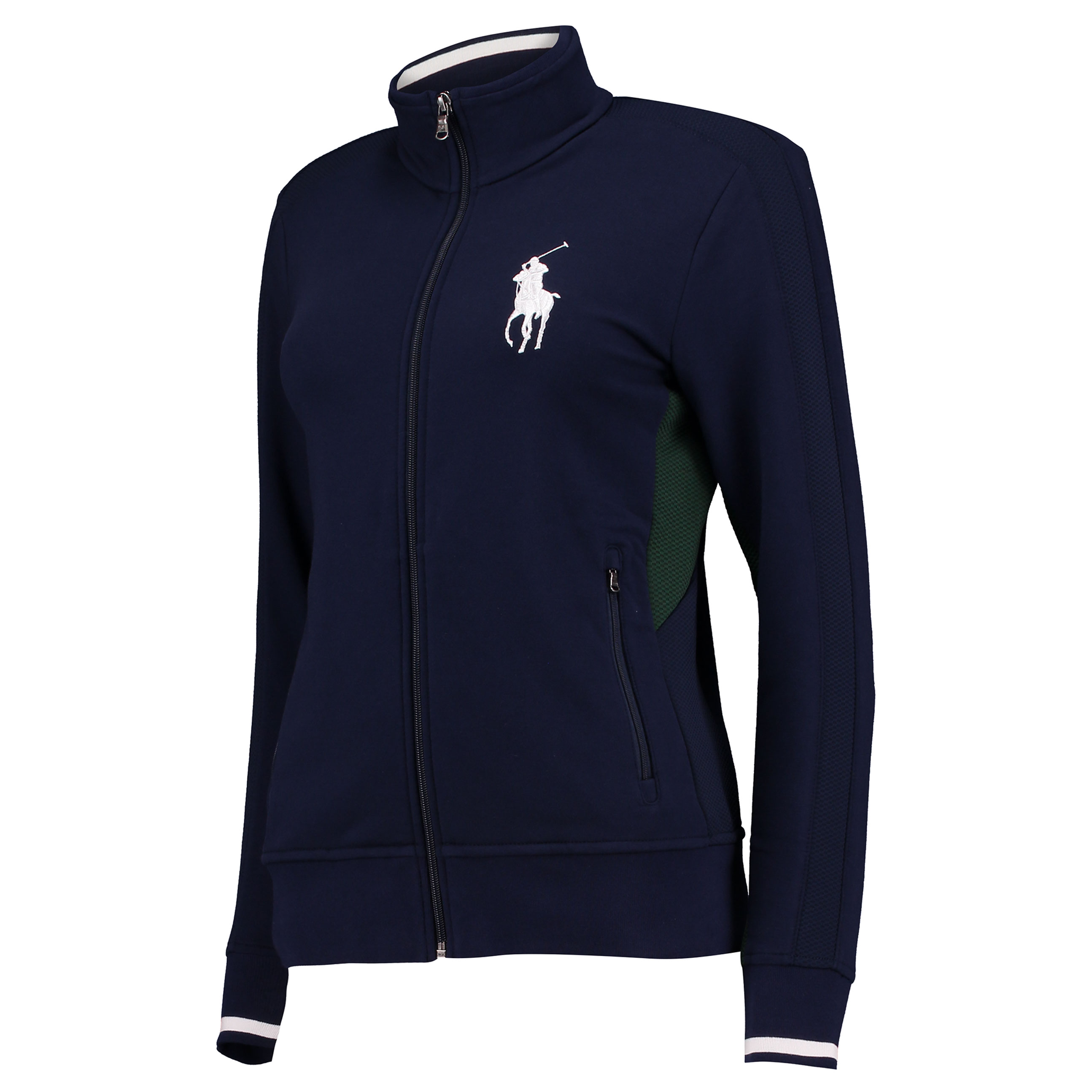 Wimbledon Ralph Lauren Ball Girl Warm Up Jacket - French Navy - Ladies