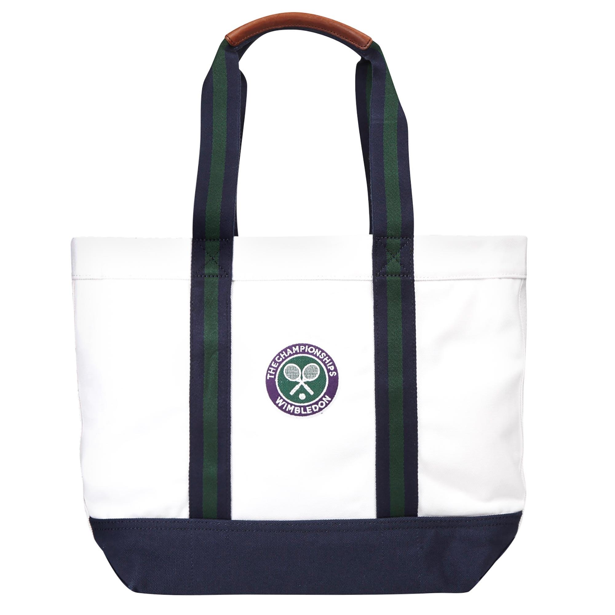 Wimbledon Ralph Lauren Tote Bag - White