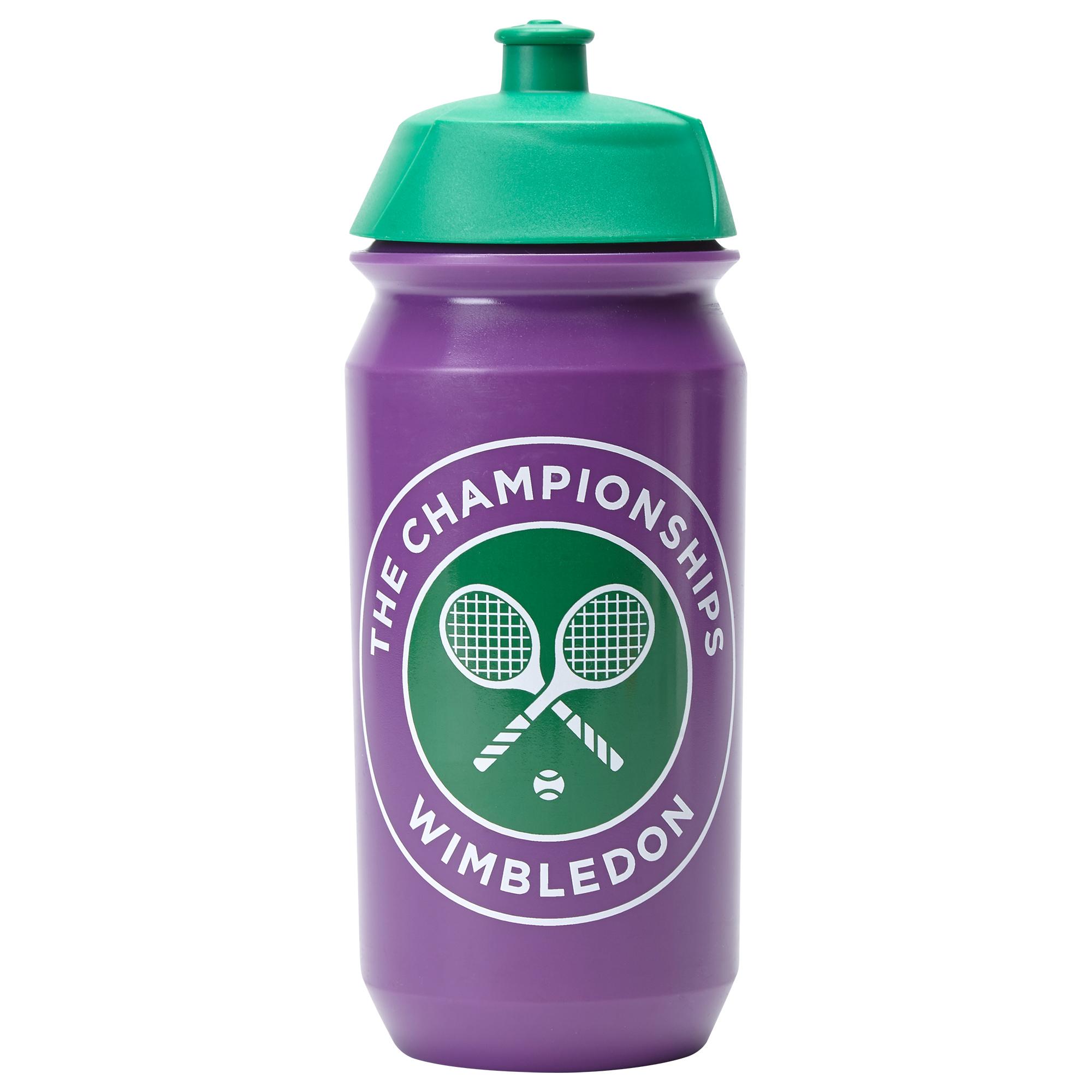 Wimbledon Plastic Purple Waterbottle 2017