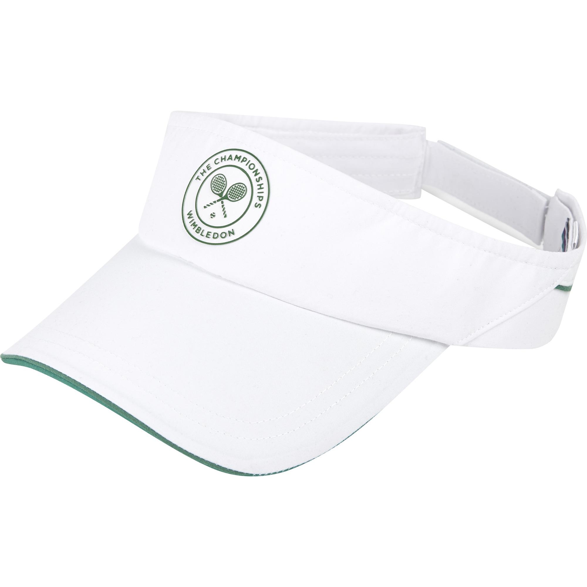 Wimbledon Classic Visor - White