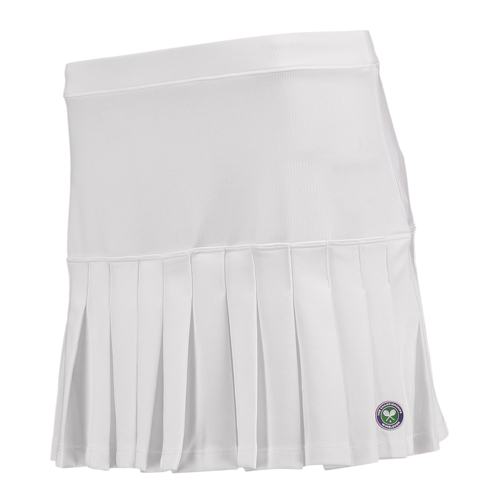 Wimbledon Technical Skirt - White - Ladies