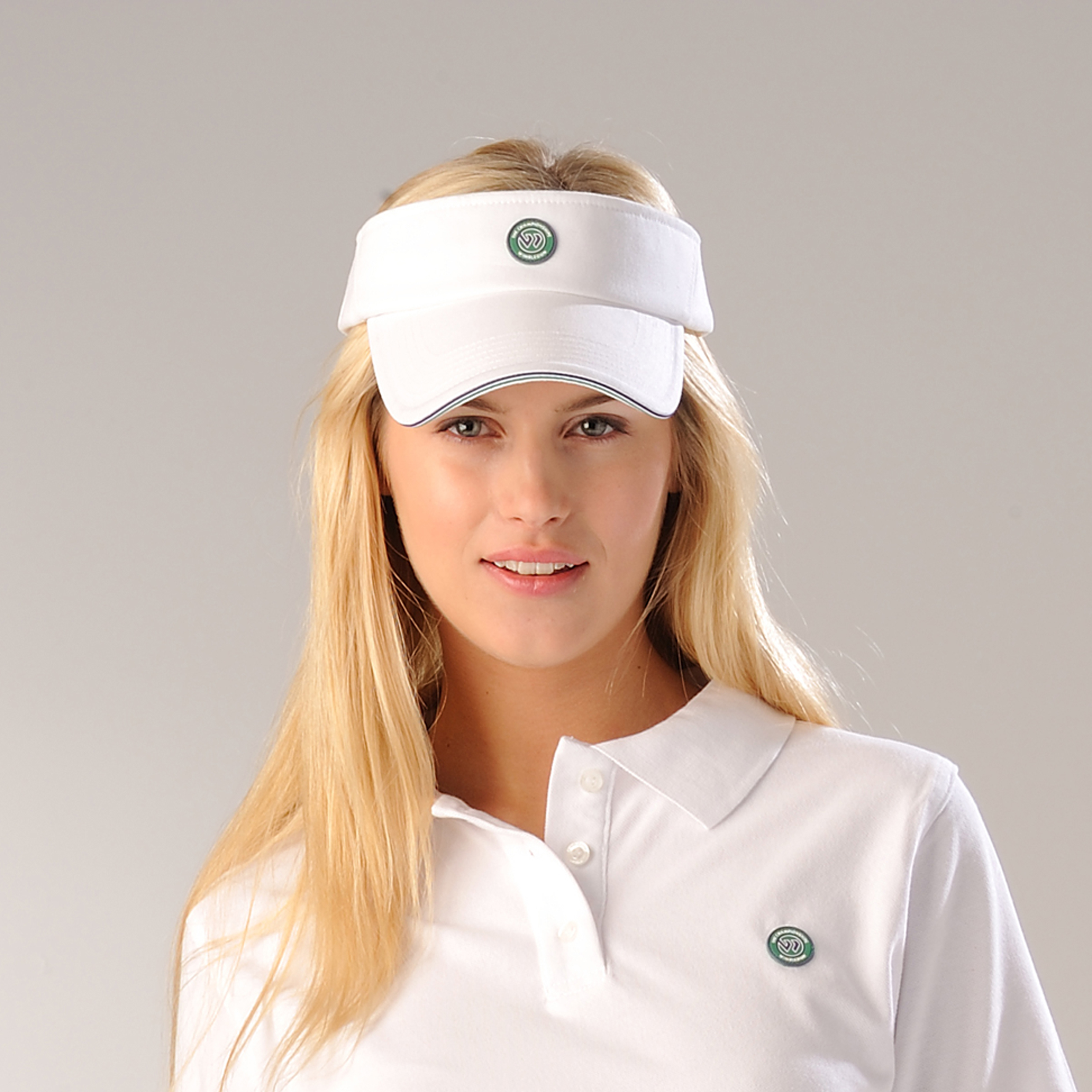 Wimbledon Adjustable Sun Visor - White