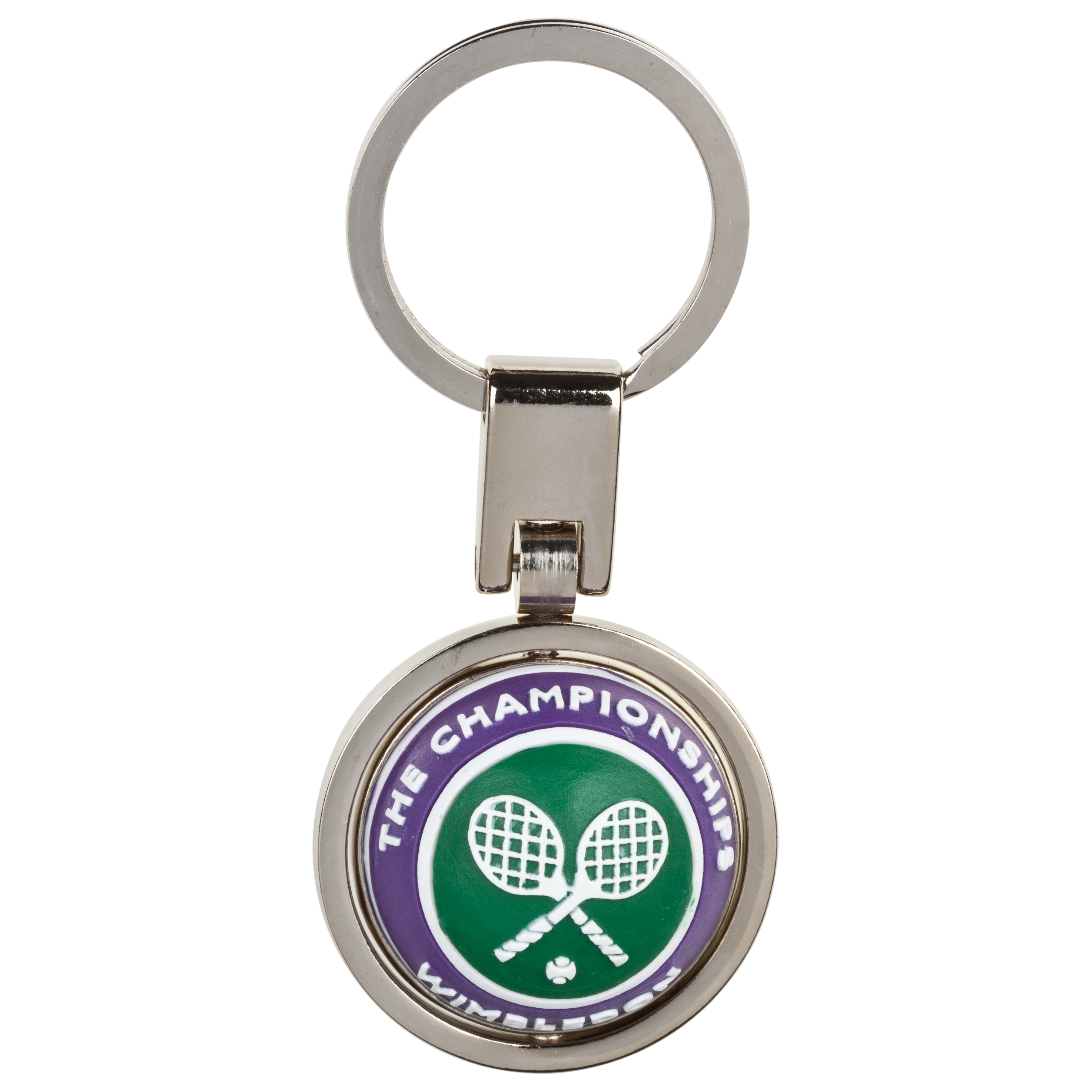Wimbledon PVC Spinning Ball keyring
