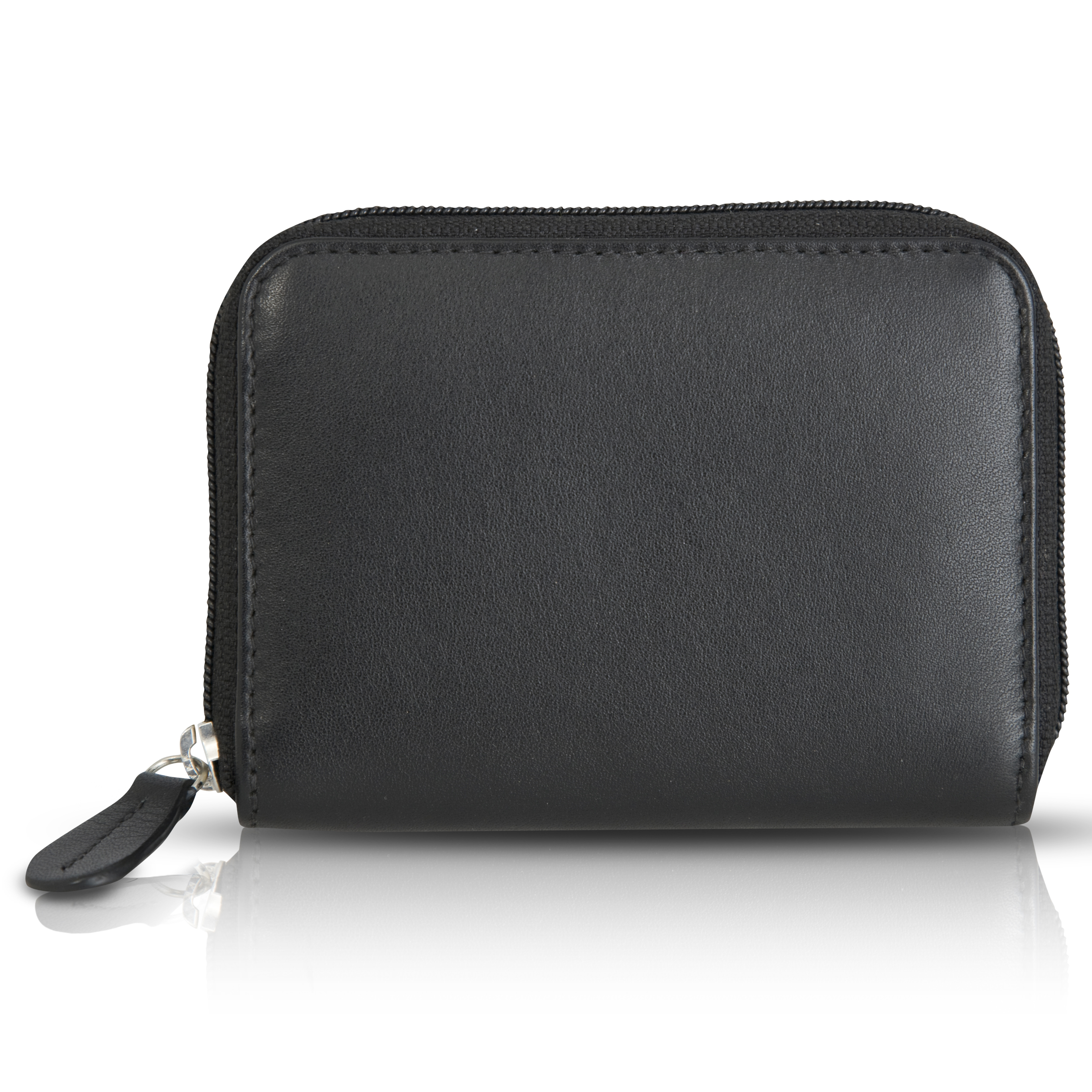Wimbledon Leather Purse - Black
