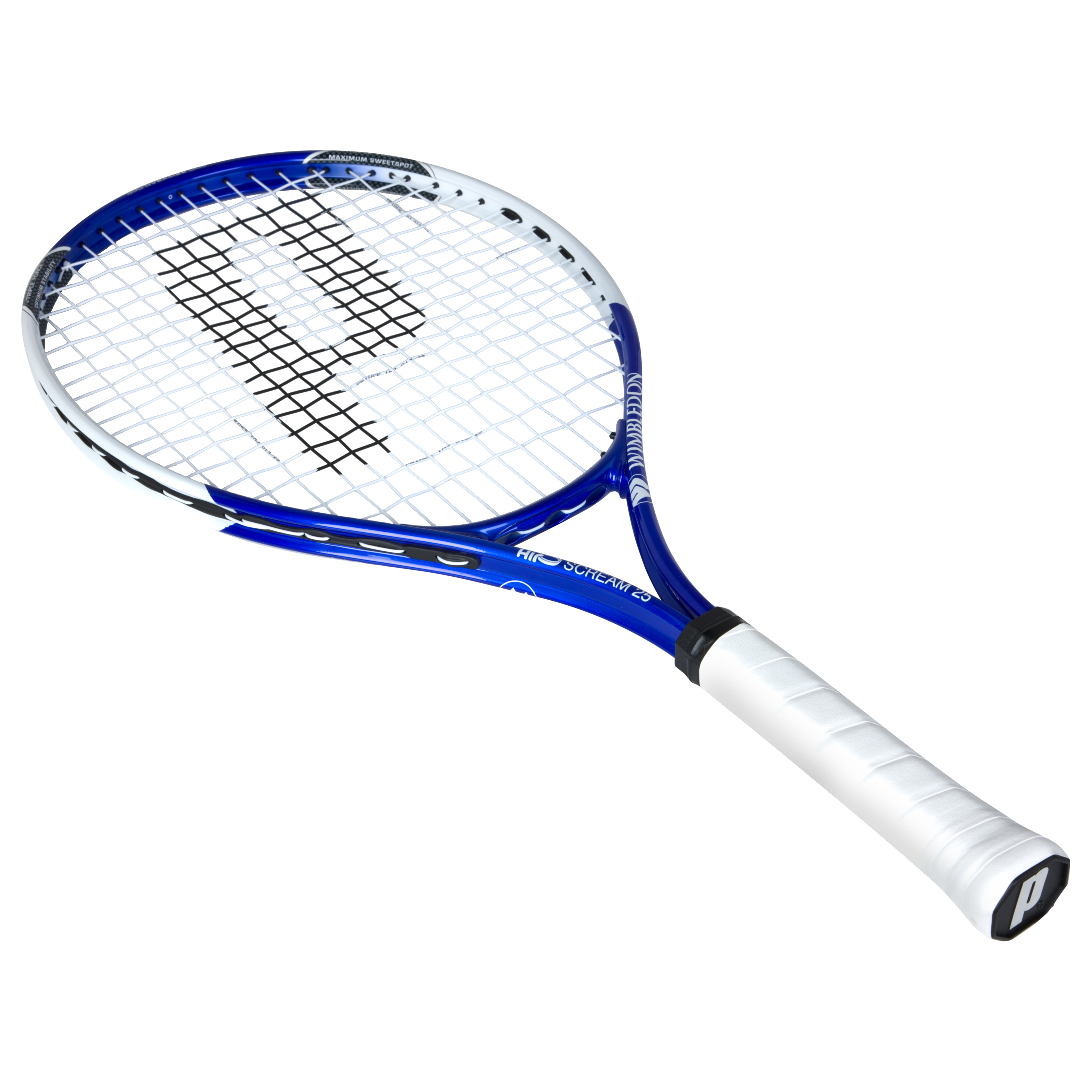 Wimbledon By Prince Airo Scream 25 Tennis Racket - Blue/White