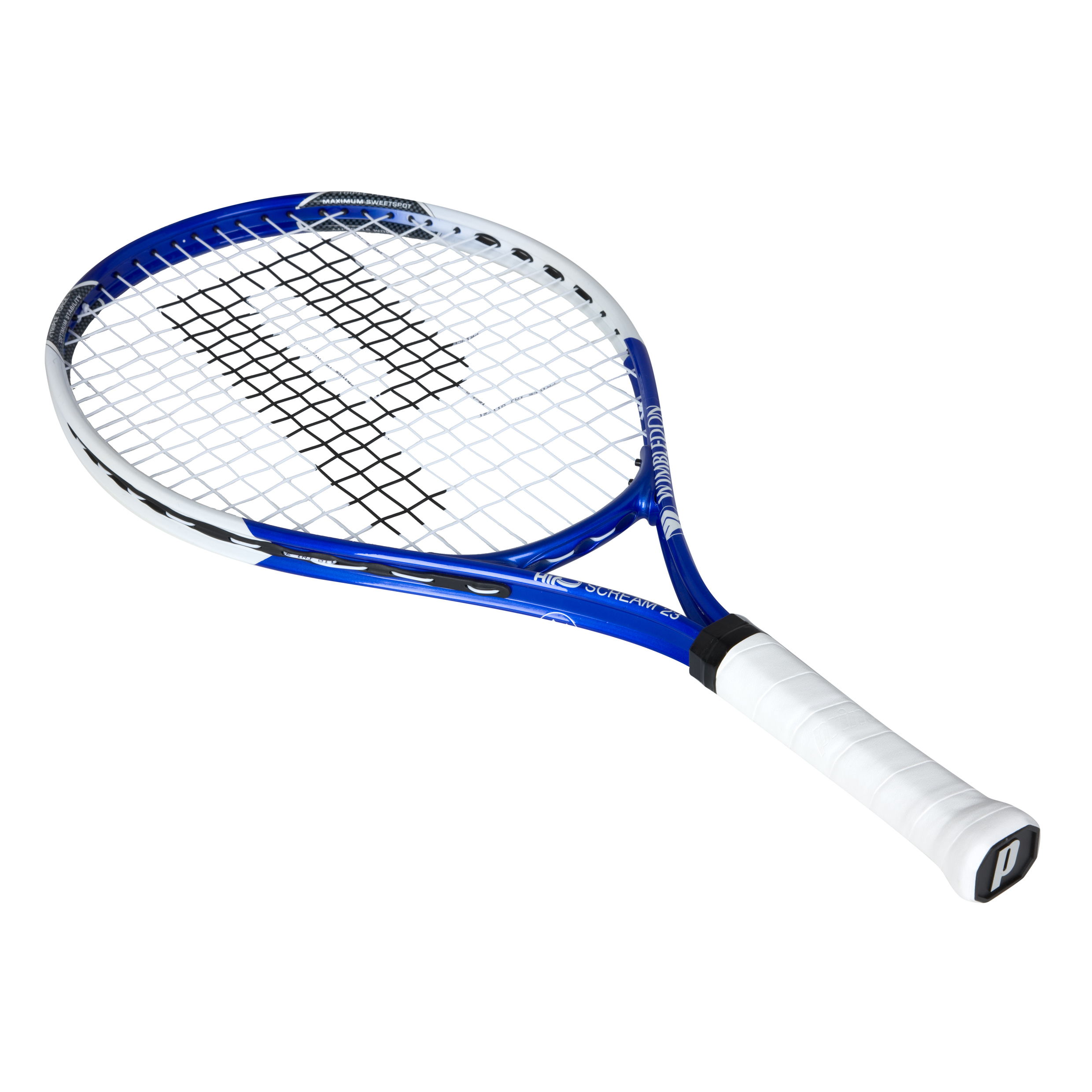 Wimbledon By Prince Airo Scream 23 Tennis Racket - Blue/White