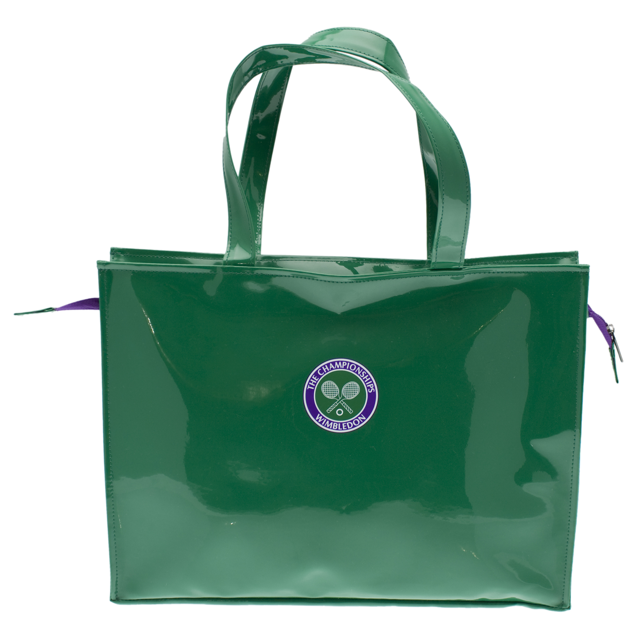 Wimbledon PVC Shoulder Tote