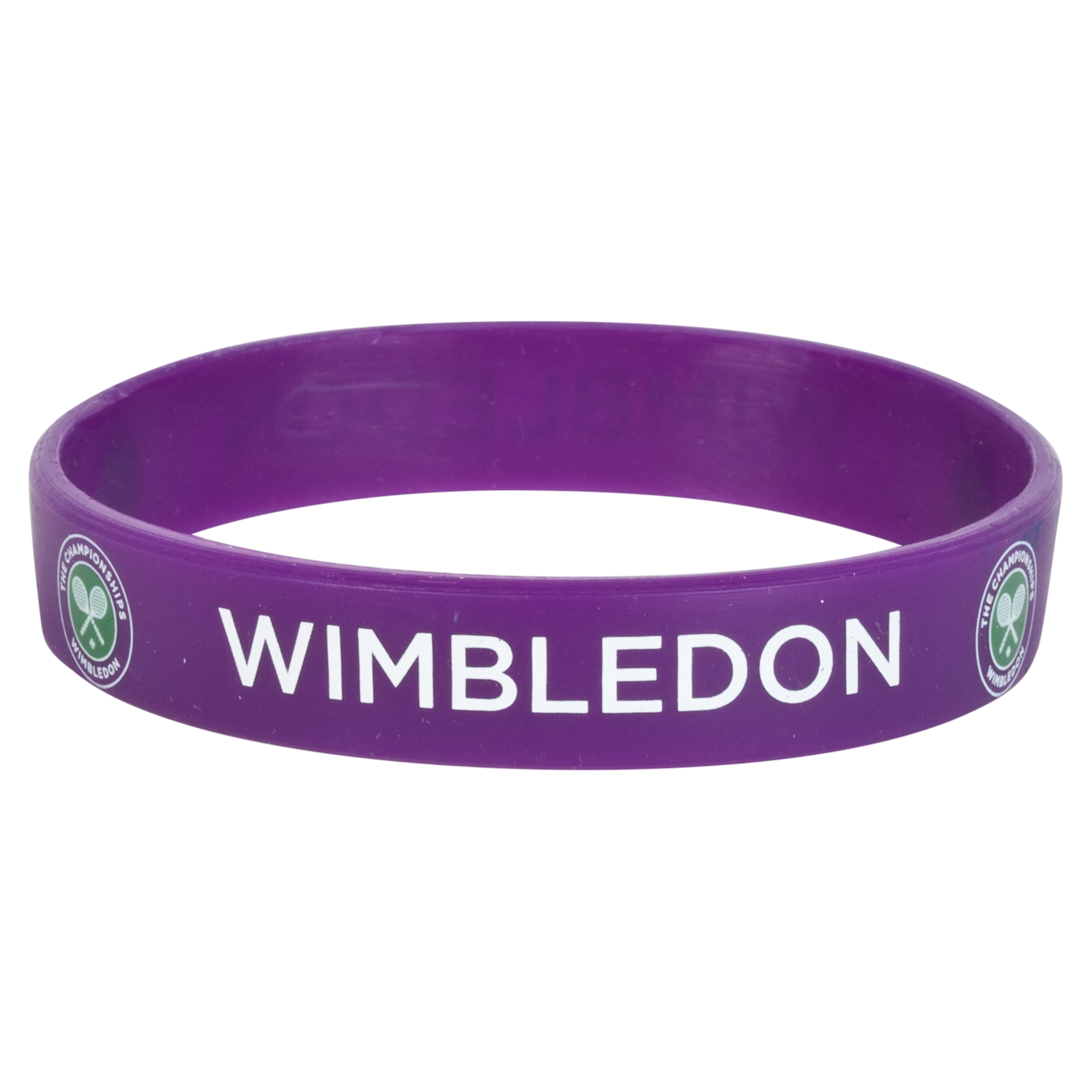 Wimbledon Wrist Band - Purple