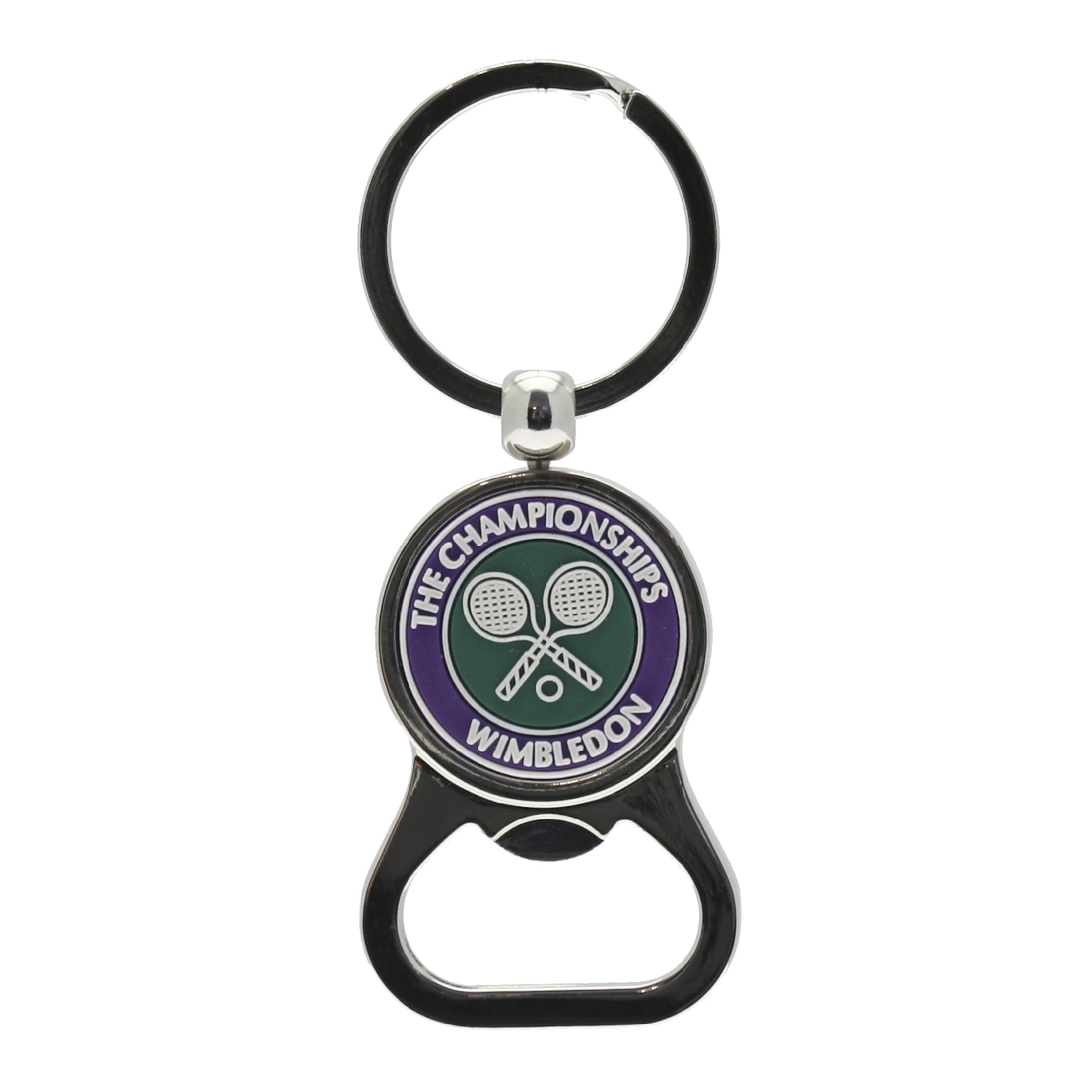 Wimbledon Bottle Opener Key Ring